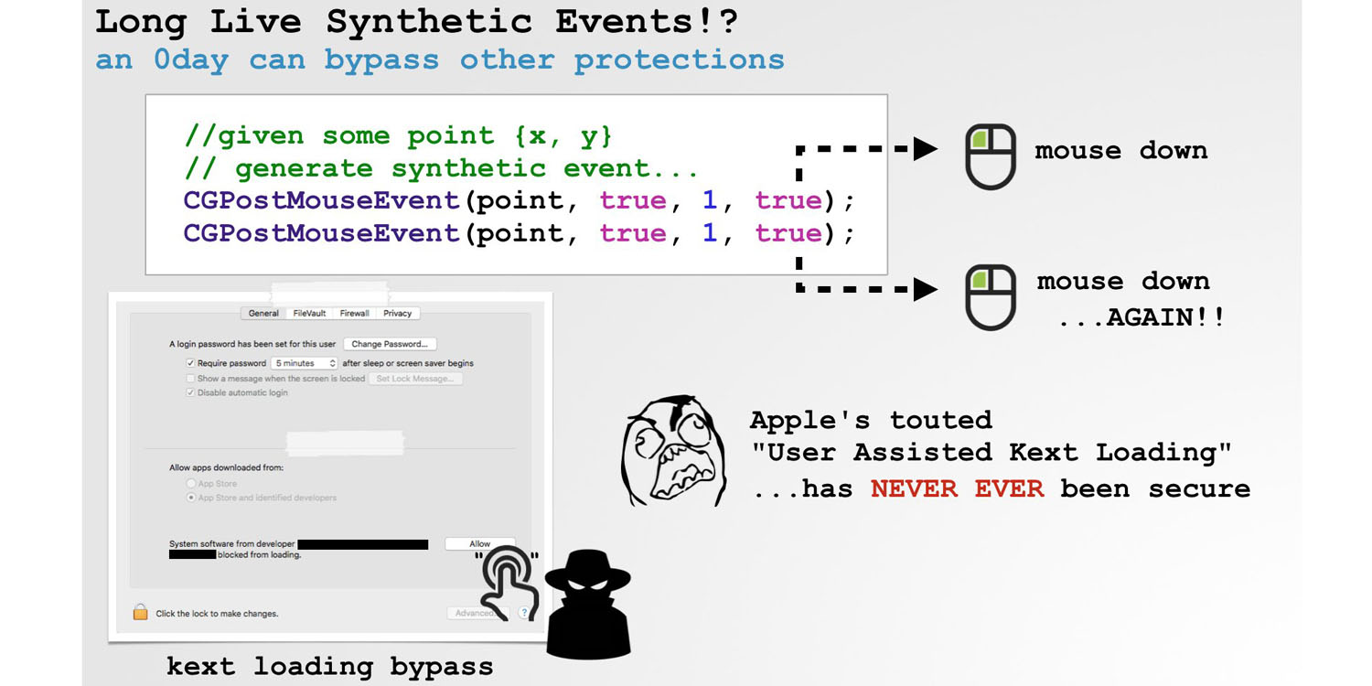 ex nsa staffer demonstrates malware bypassing security checks in high sierra