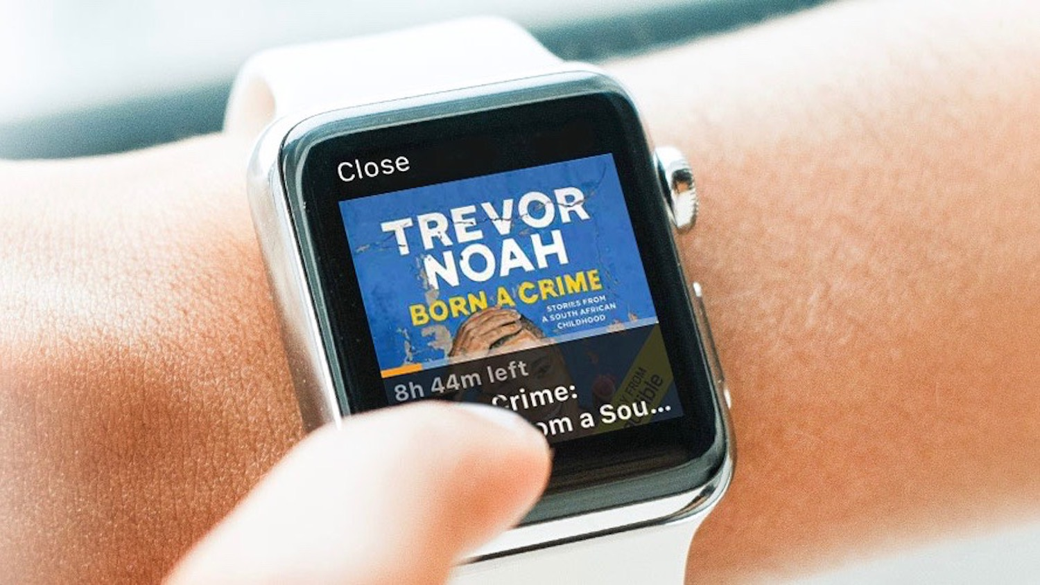 apple watch how to sync audiobooks with audible