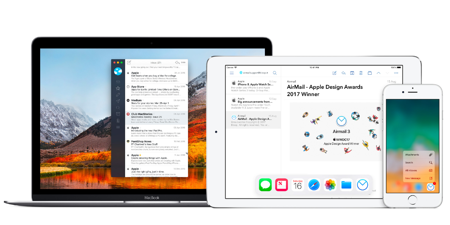 Airmail for Mac updated with support for Dark Mode, accent color layouts, more