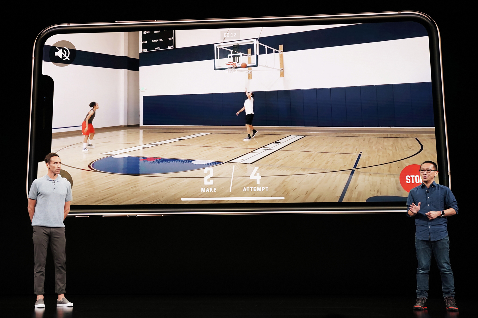 homecourt shot science ar update featured in iphone xs keynote now available