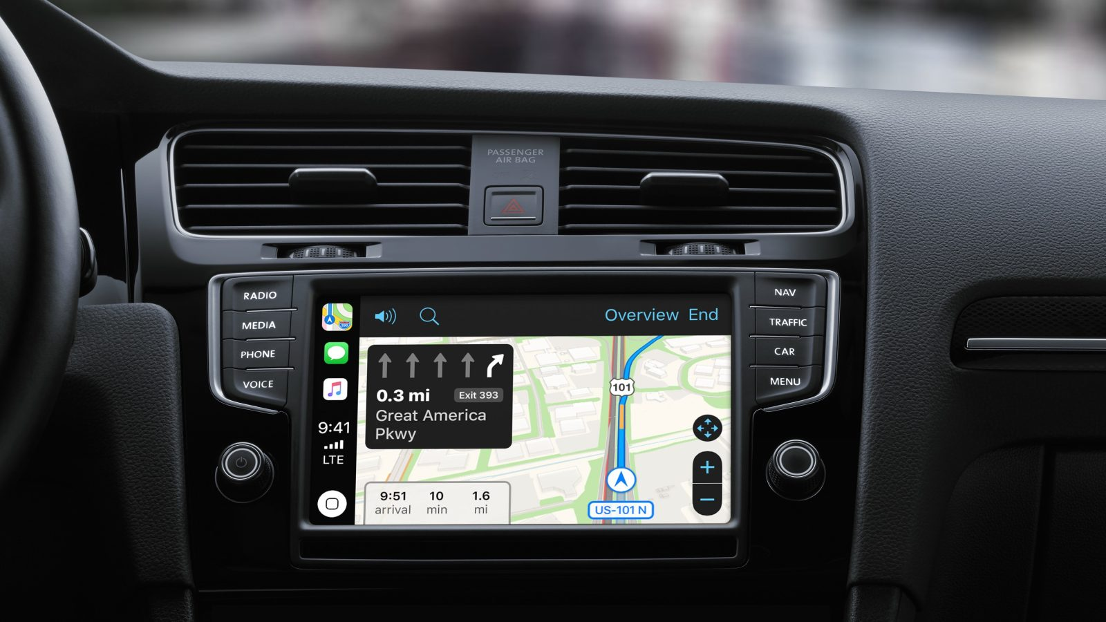 drive with apple watch and carplay ios 12 improves the. Black Bedroom Furniture Sets. Home Design Ideas