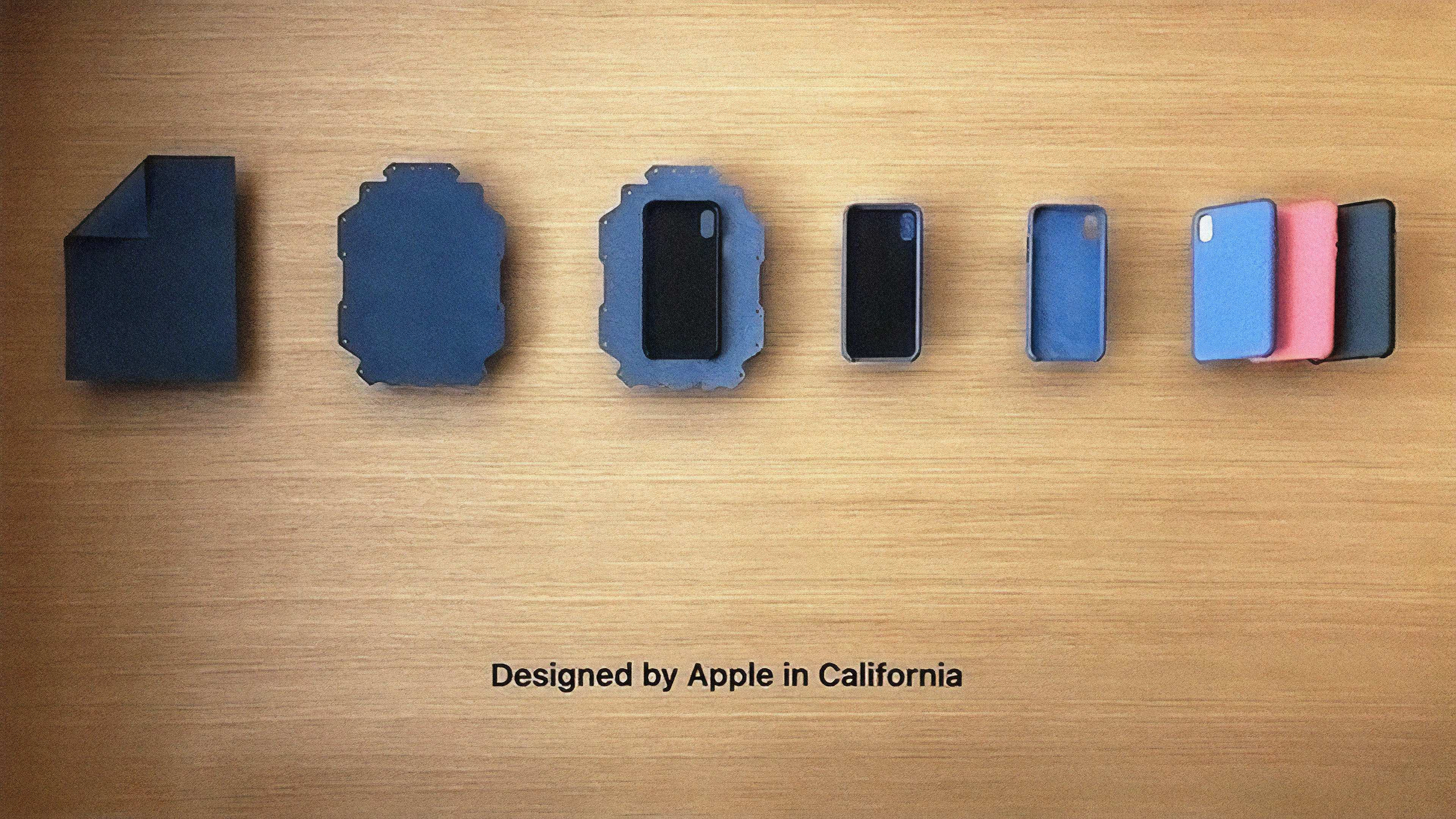 apple park visitor center adds new one of a kind avenues depicting apple watch series 4 iphone xs in exquisite detail