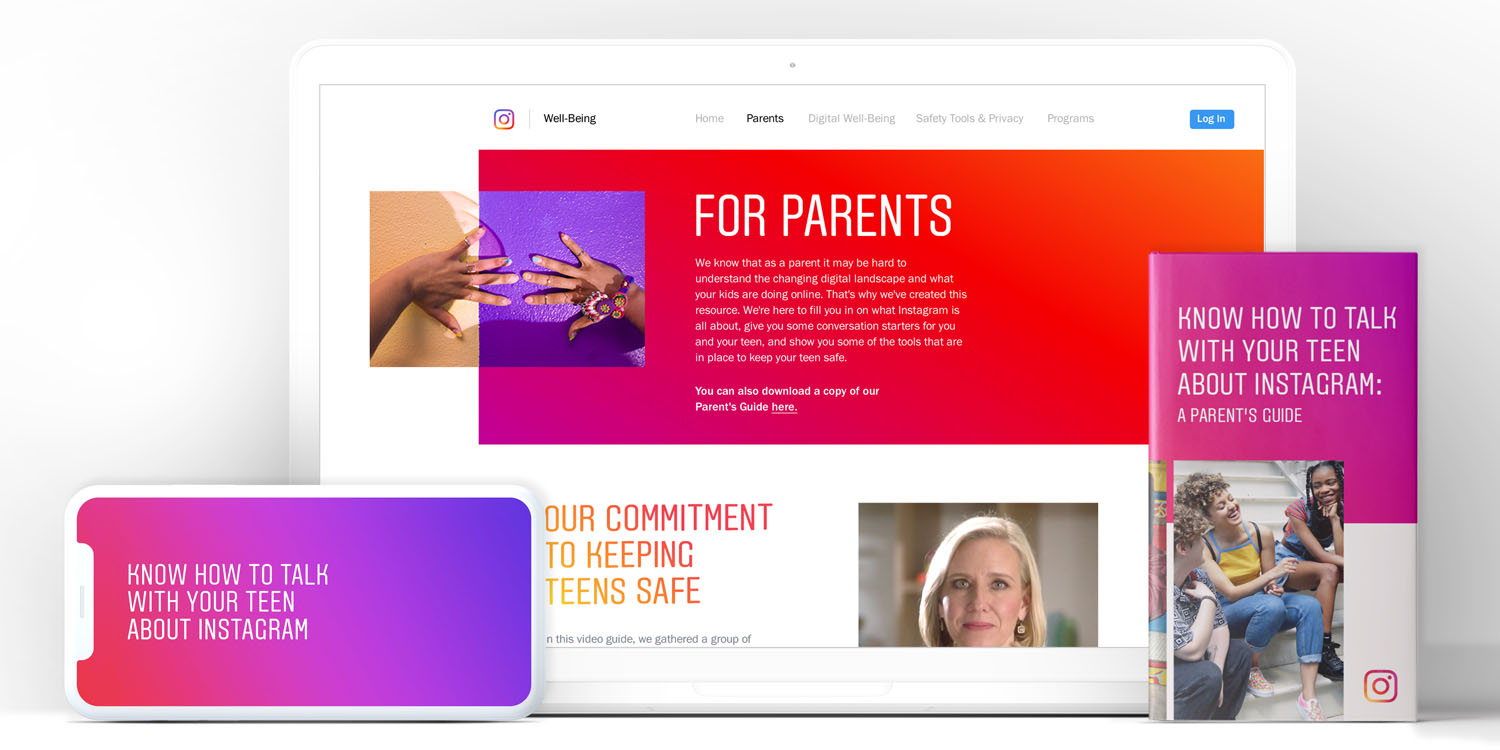 instagram announces parent s guide to help them assist teens with privacy safety and time