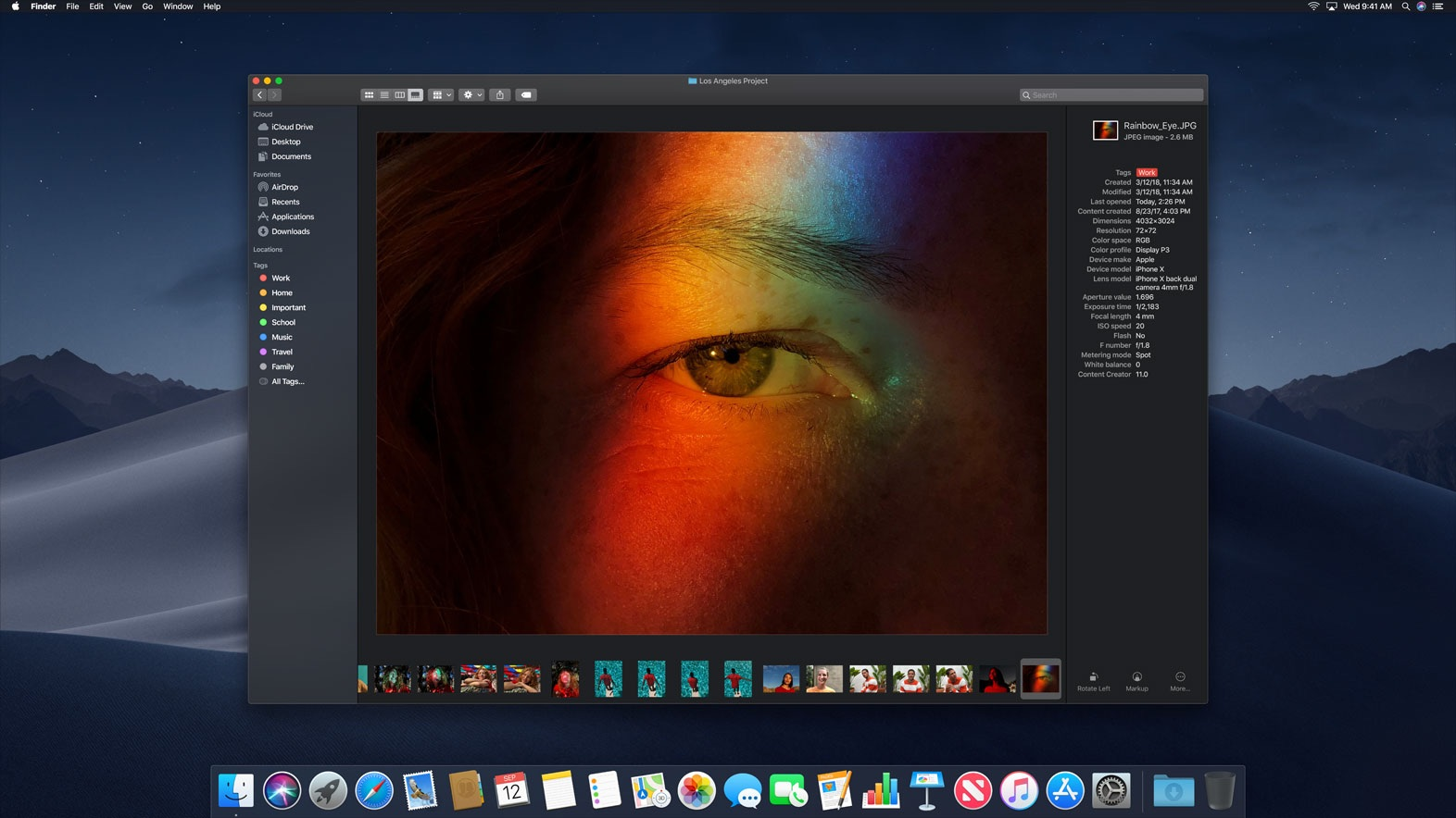 macOS Mojave dark mode