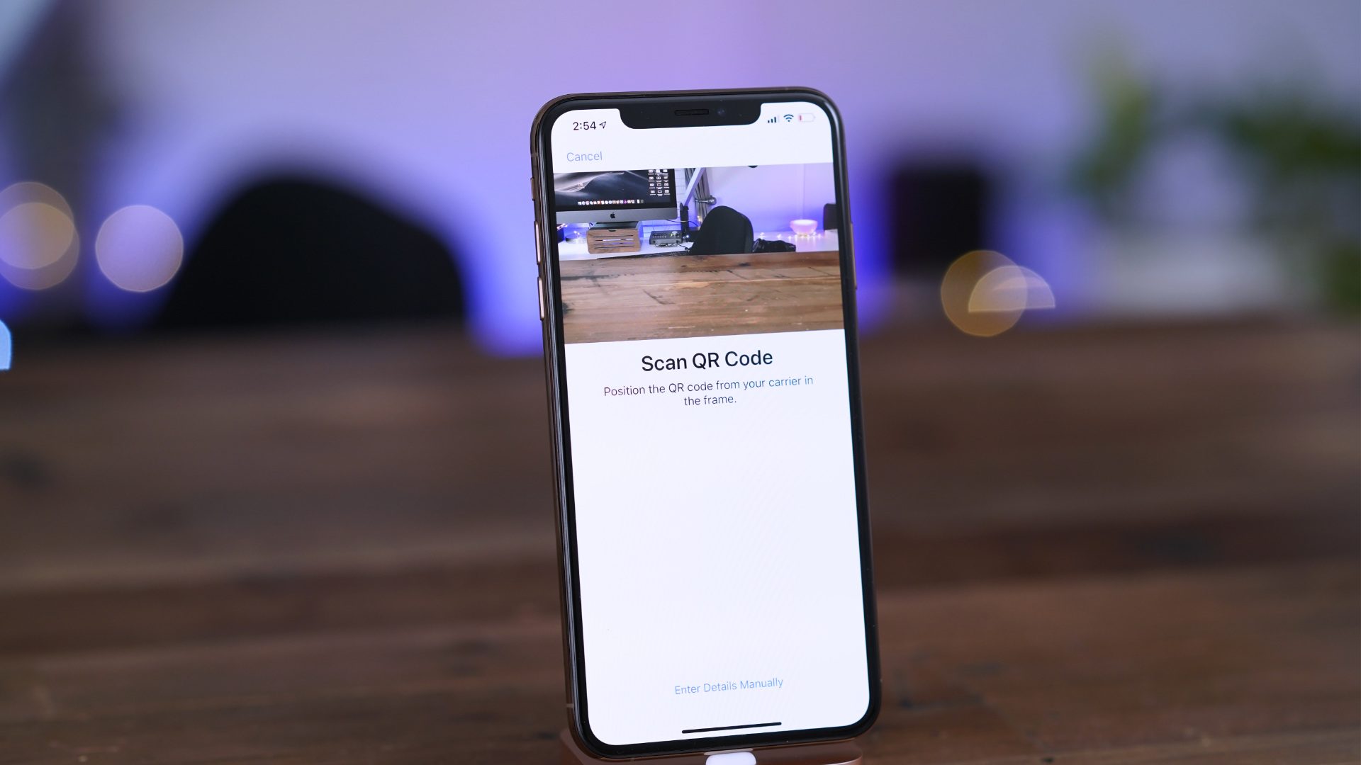 how to scan a qr code on iphone xr