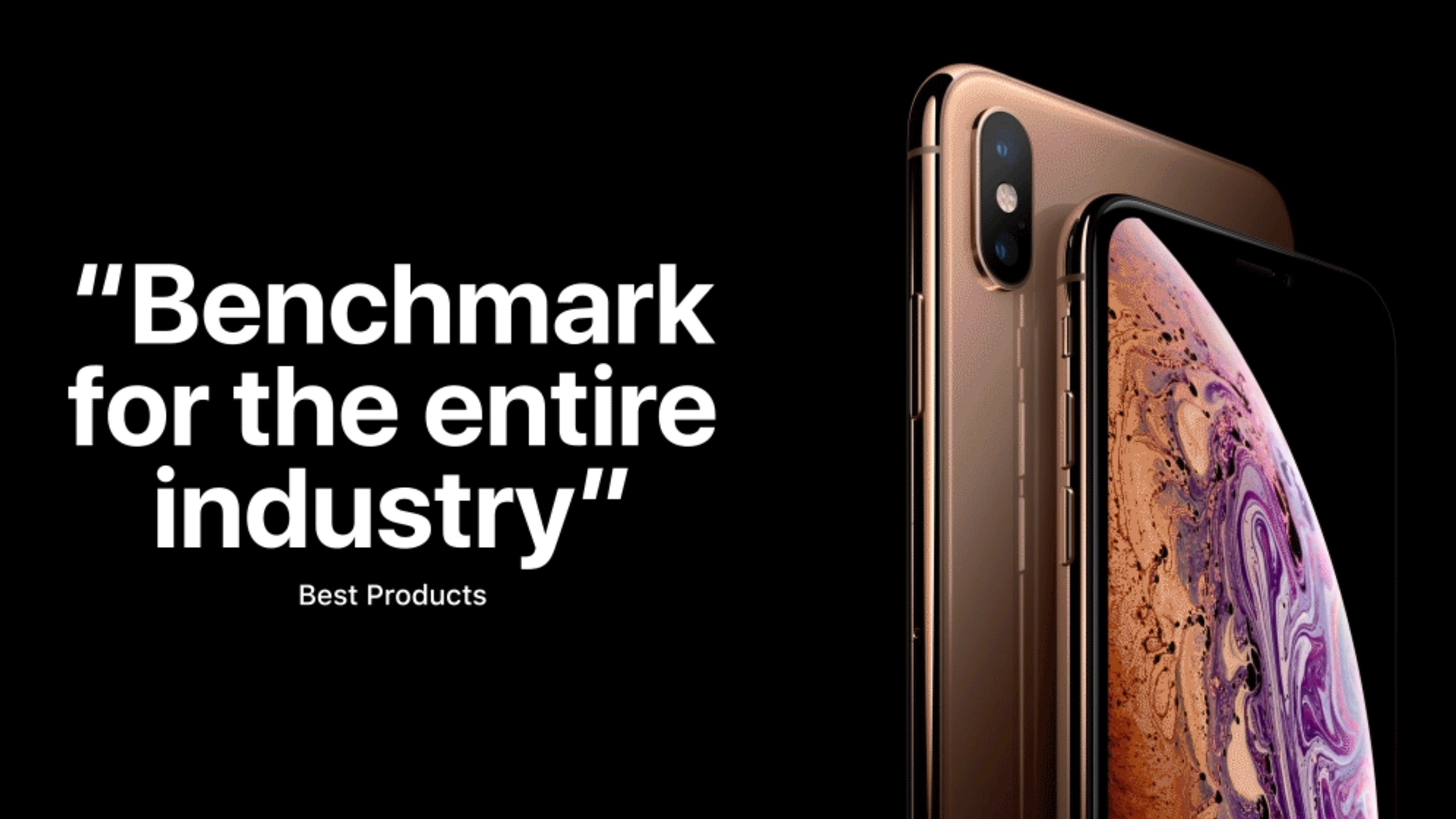 apple shares its own iphone xs review roundup focusing entirely on the positives