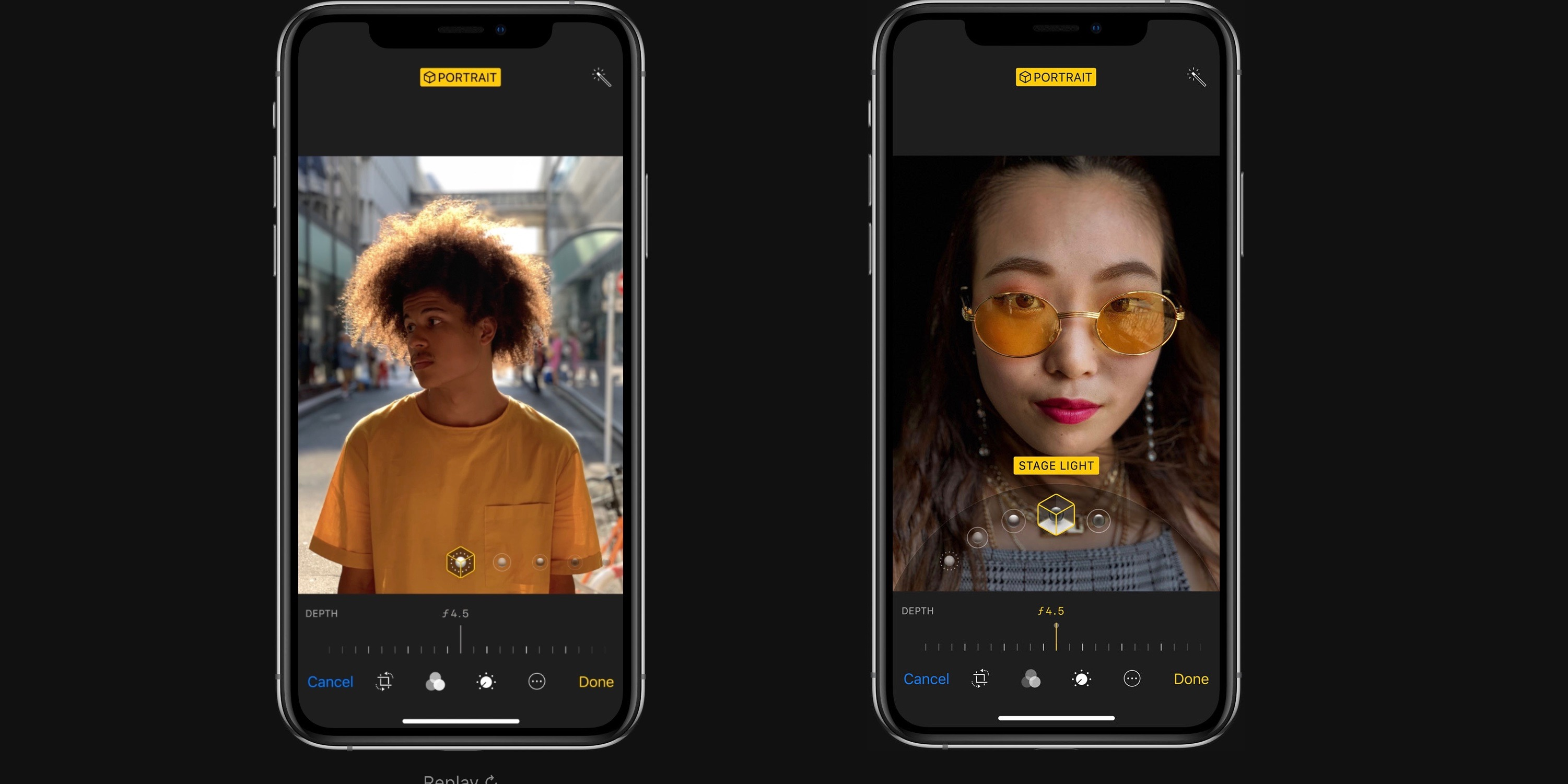 apple to add support for depth control while taking an image w iphone xs