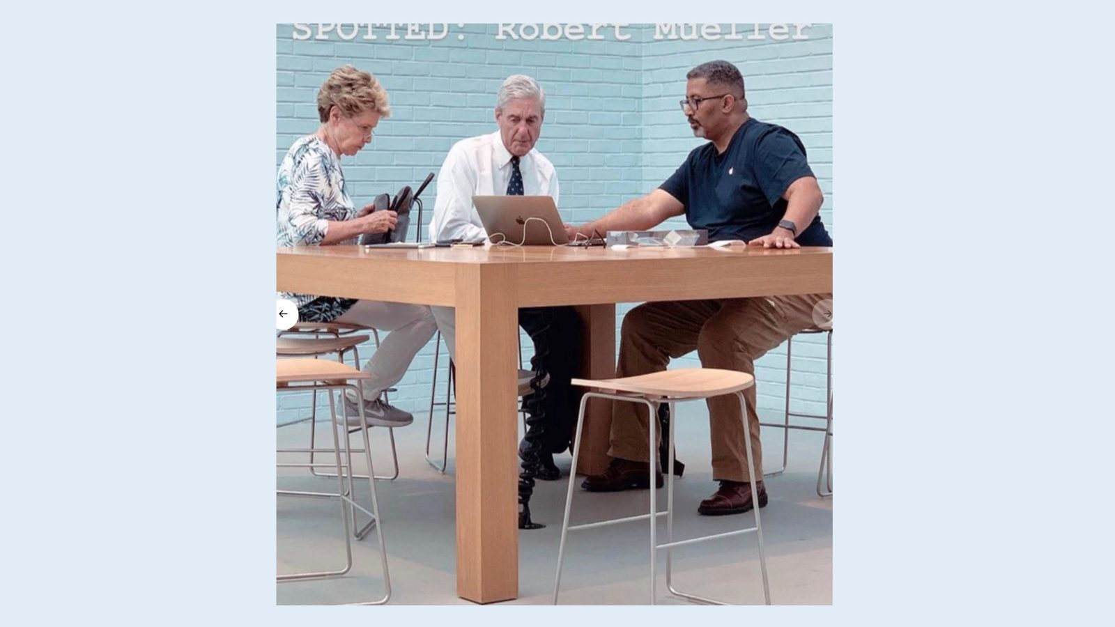 caption contest what s robert mueller getting help with at a