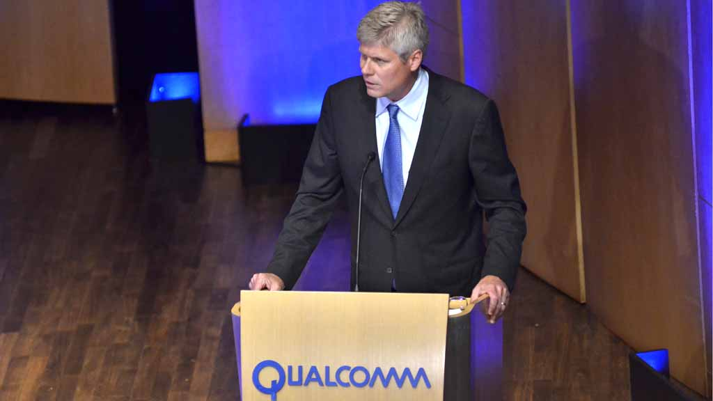 Qualcomm CEO touts new partnership with Apple, won't disclose settlement value