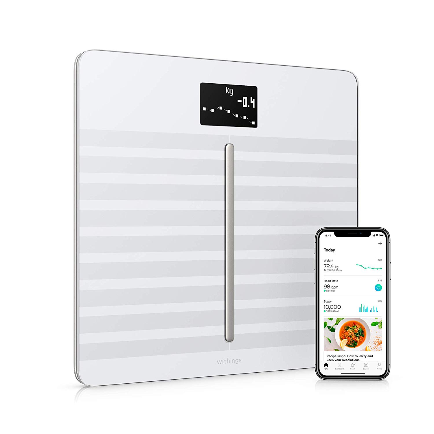 Best Smart Scale 2020.Working Out With Apple Watch These Smart Scales Sync Weight