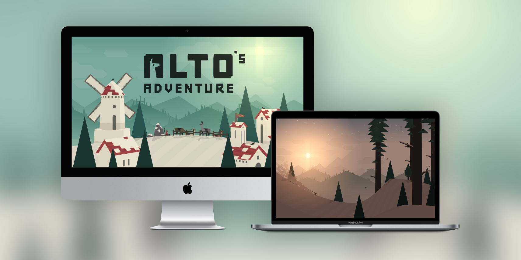 award winning ios game alto s adventure now available on the mac
