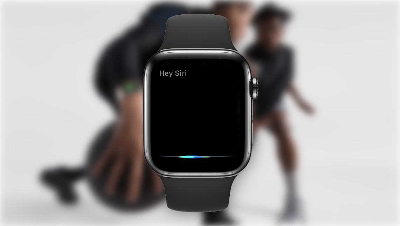 Siri waveform animation on Apple Watch Series 4 responds dynamically