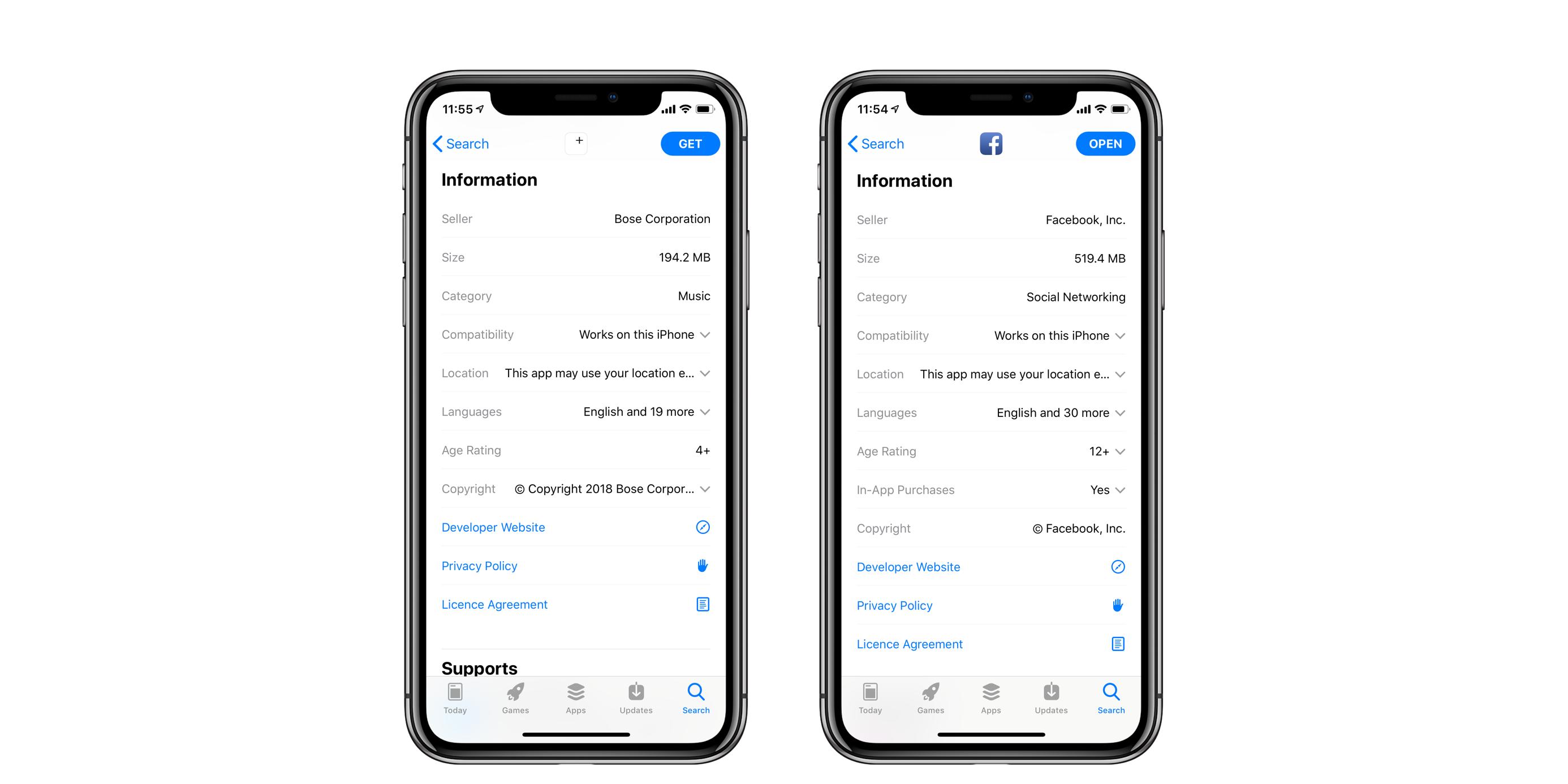 app 4 facebook for ios