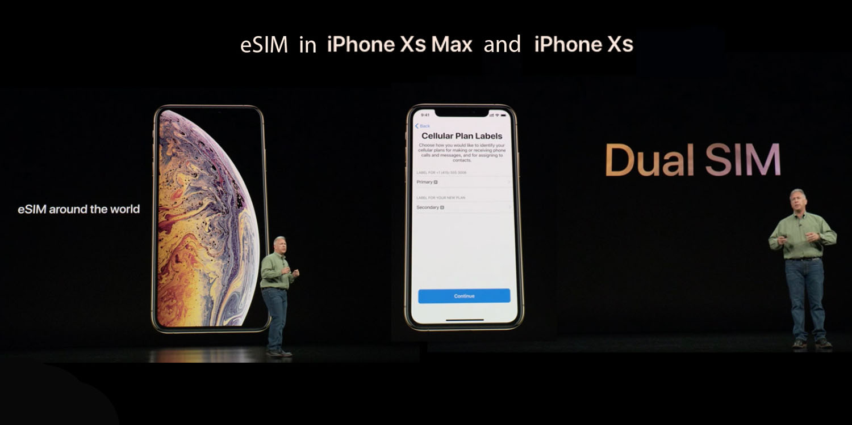 esim support iPhone