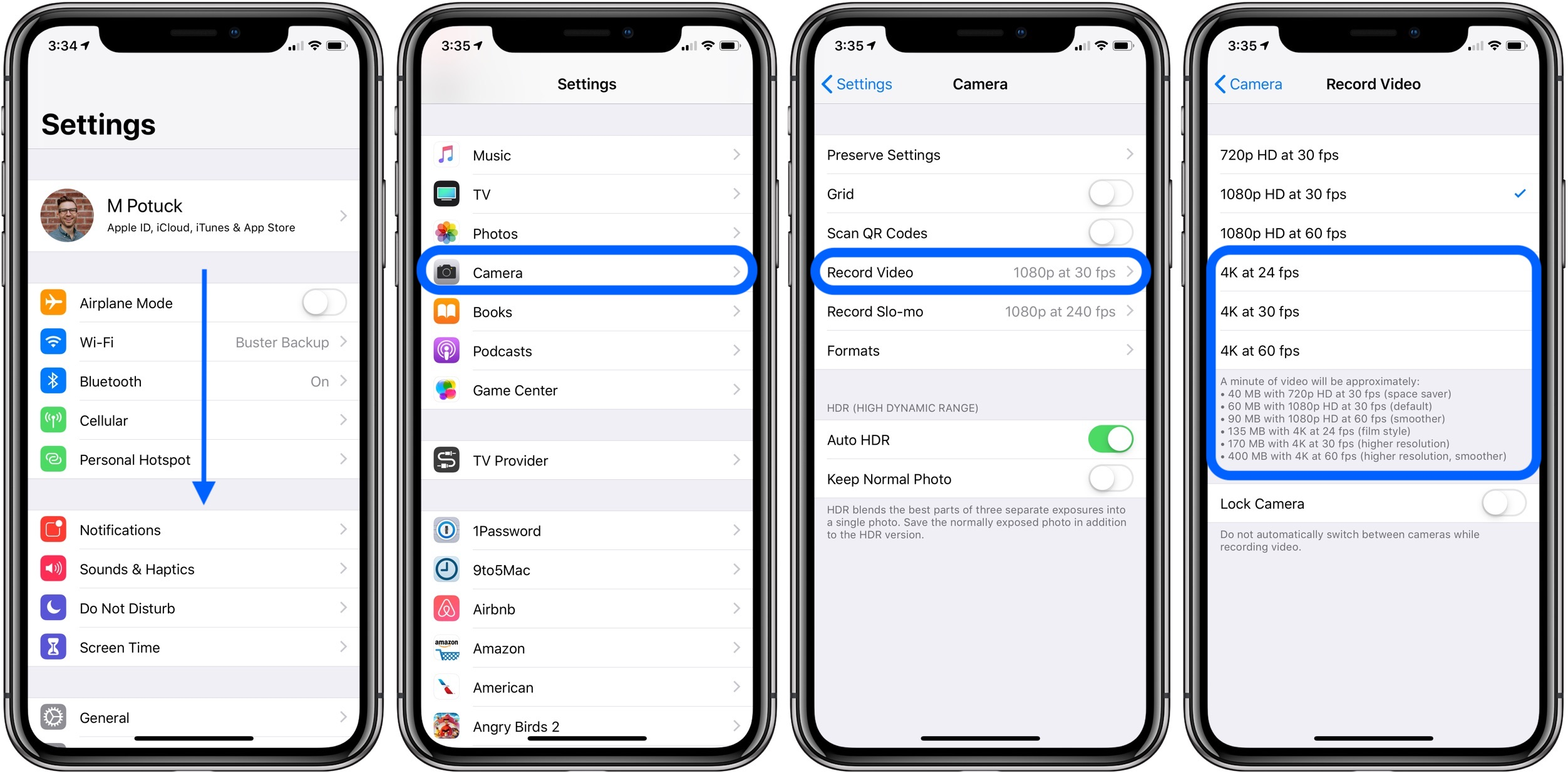 How to edit a video on my iphone x