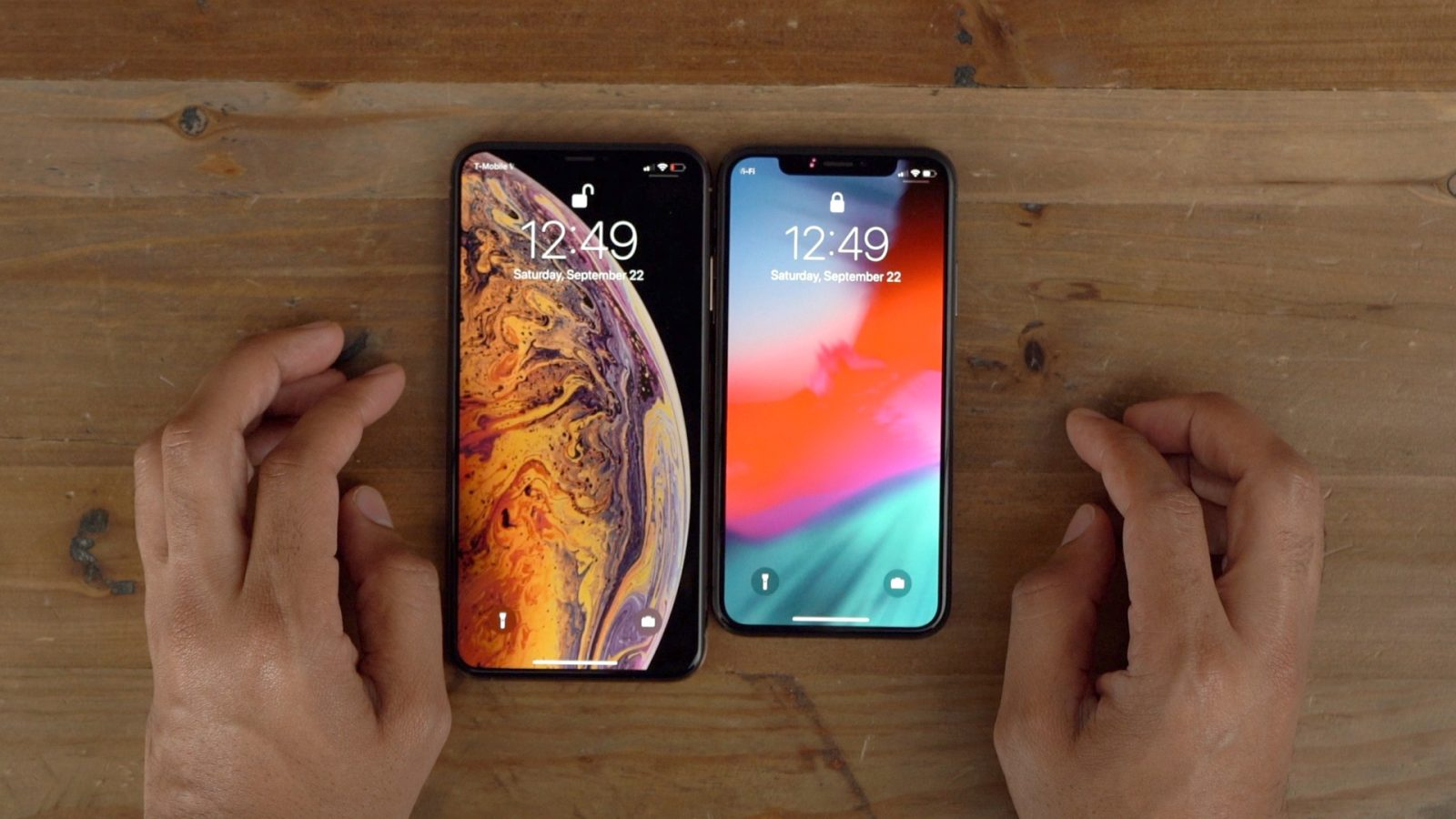 iPhone XS Max – How to Change Lock Screen