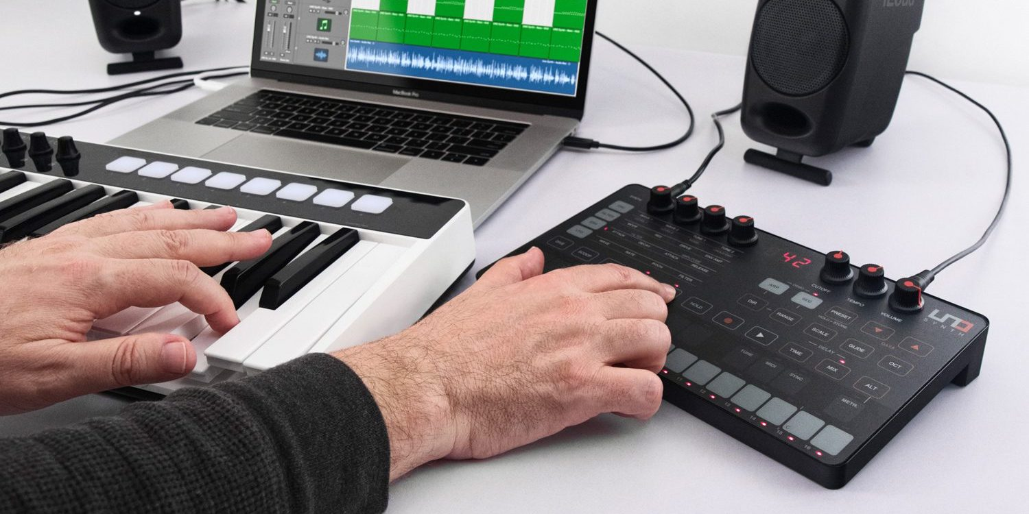 logic pros review ik s new extremely affordable analog uno synth for mac ios