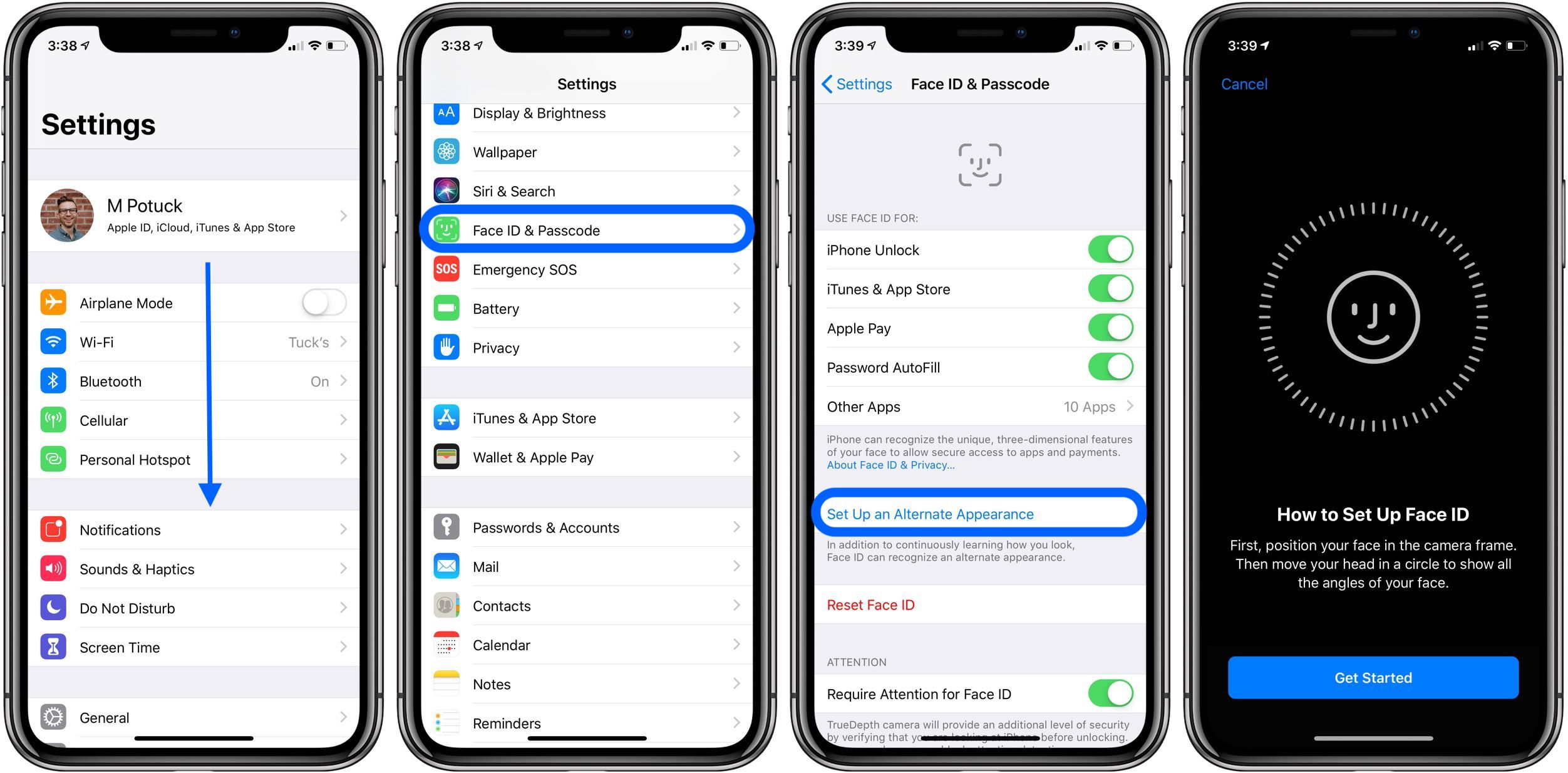 iOS 12: How to add a second person to Face ID on iPhone