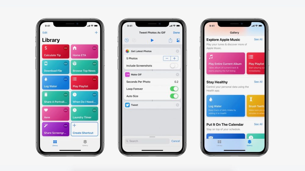 Shortcuts 2.1