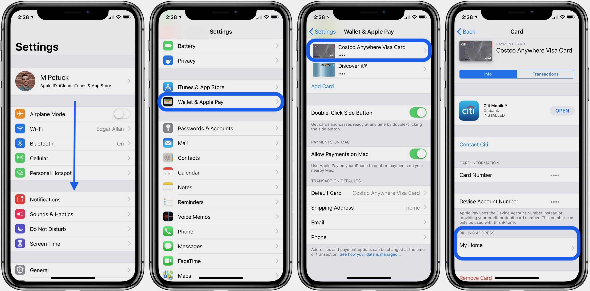 Iphone Ipad How To Change Apple Pay Billing And Shipping Address 9to5mac