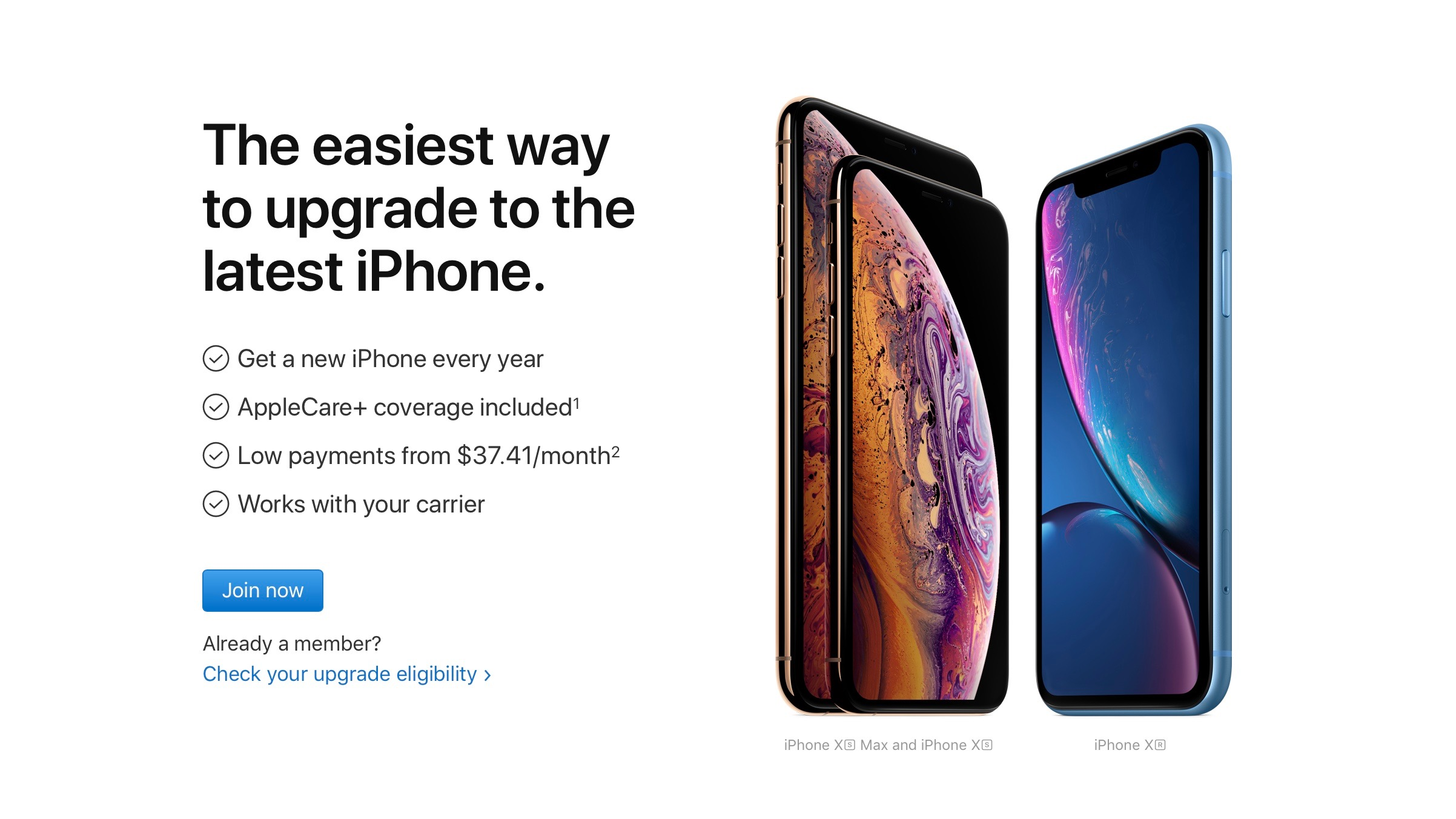 How to get pre-approved for iPhone Xs as a new or existing iPhone Upgrade Program user