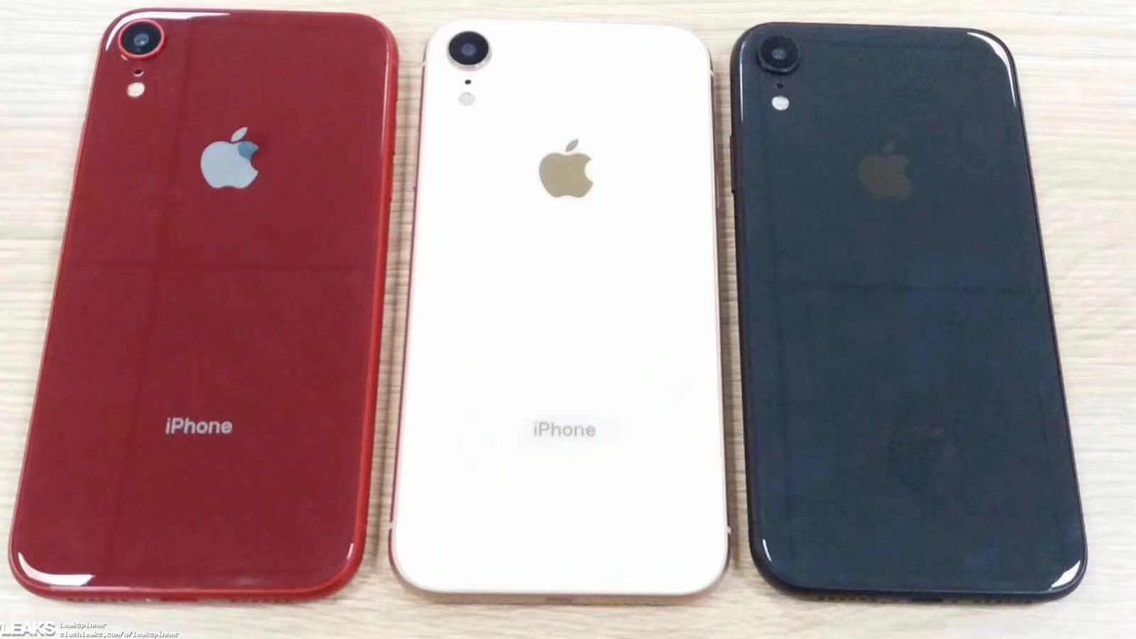 Leaked Iphone Xc Prototype Images Claim To Show New Color Options Click Here For A Photograph Of The Dual Sim More
