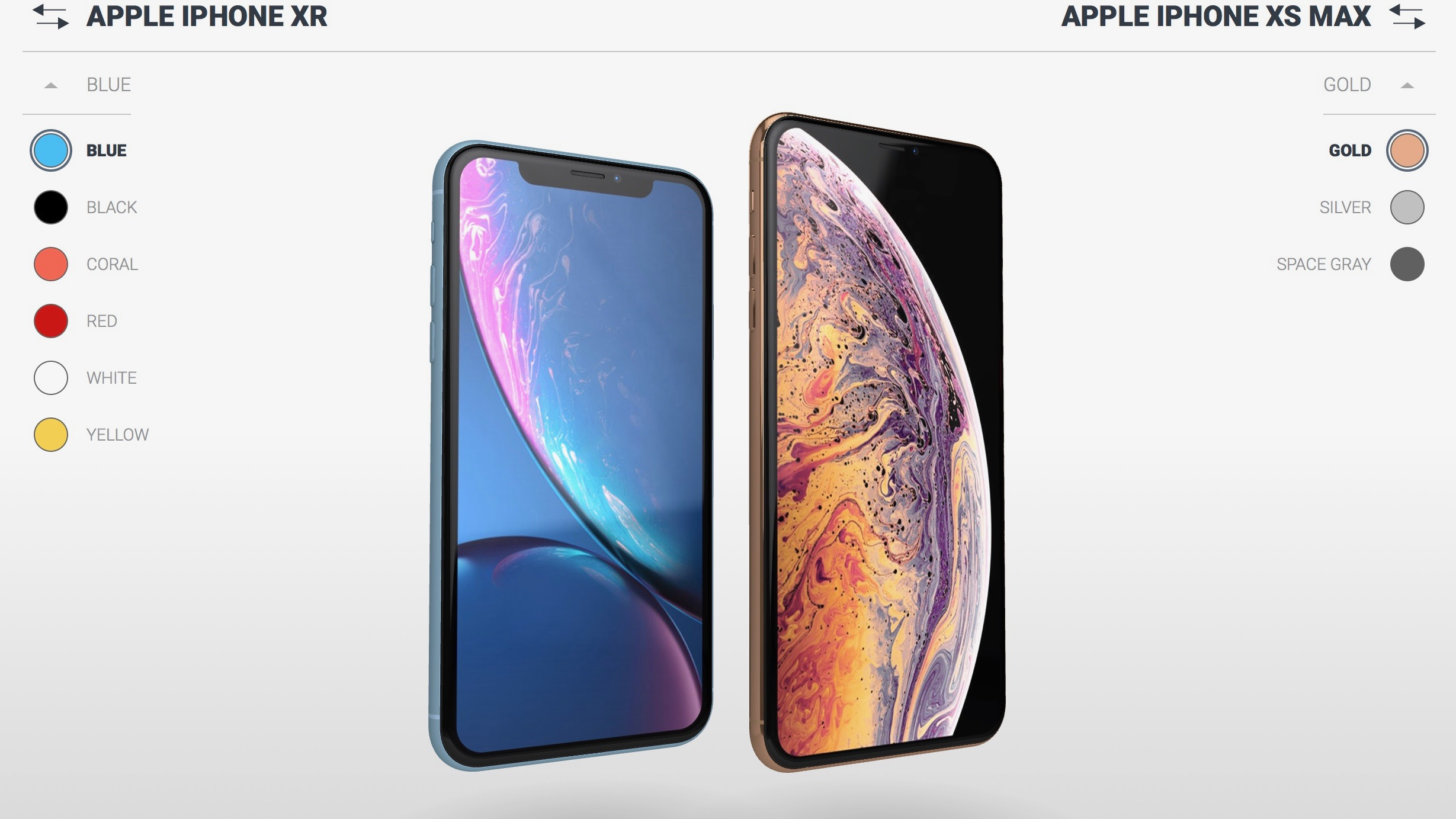 Go hands-on virtually with this interactive 3D visualizer for iPhone Xs, Xs Max and XR
