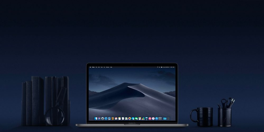 macOS Dark Mode on MacBook Pro