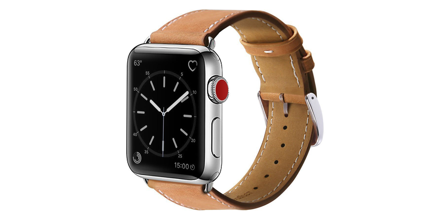Marge Plus Leather Apple Watch Band