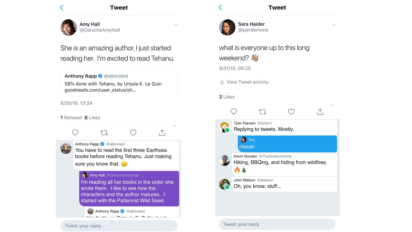 Twitter tests new threaded reply interface & status indicators to show who's online