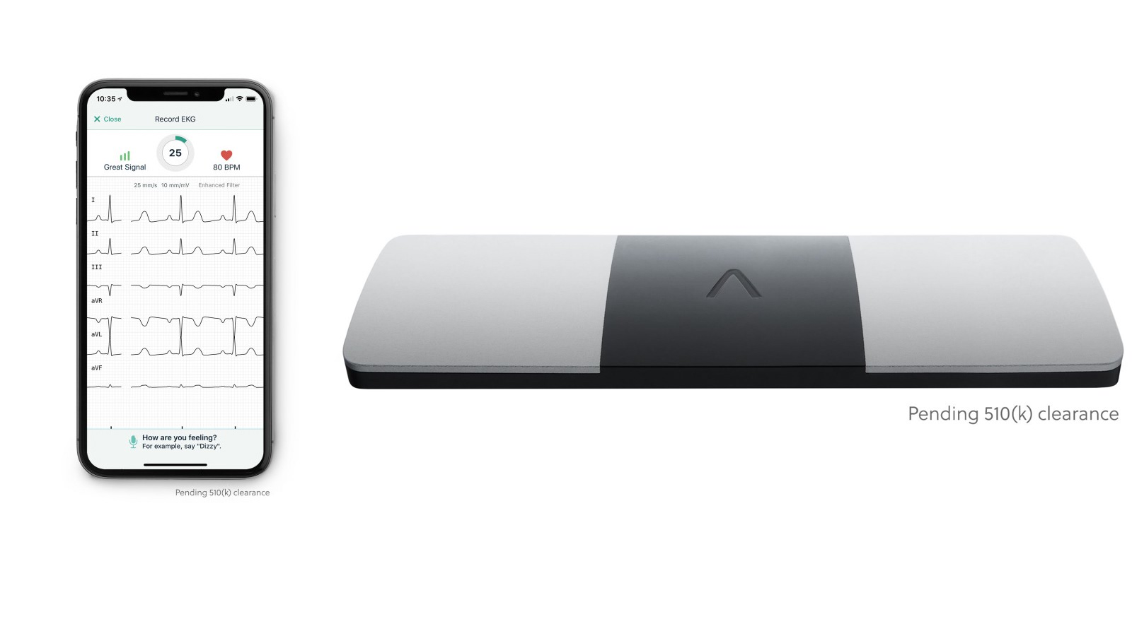 alivecor responds to apple watch ecg w 6 lead reader capable of detecting 100 diseases