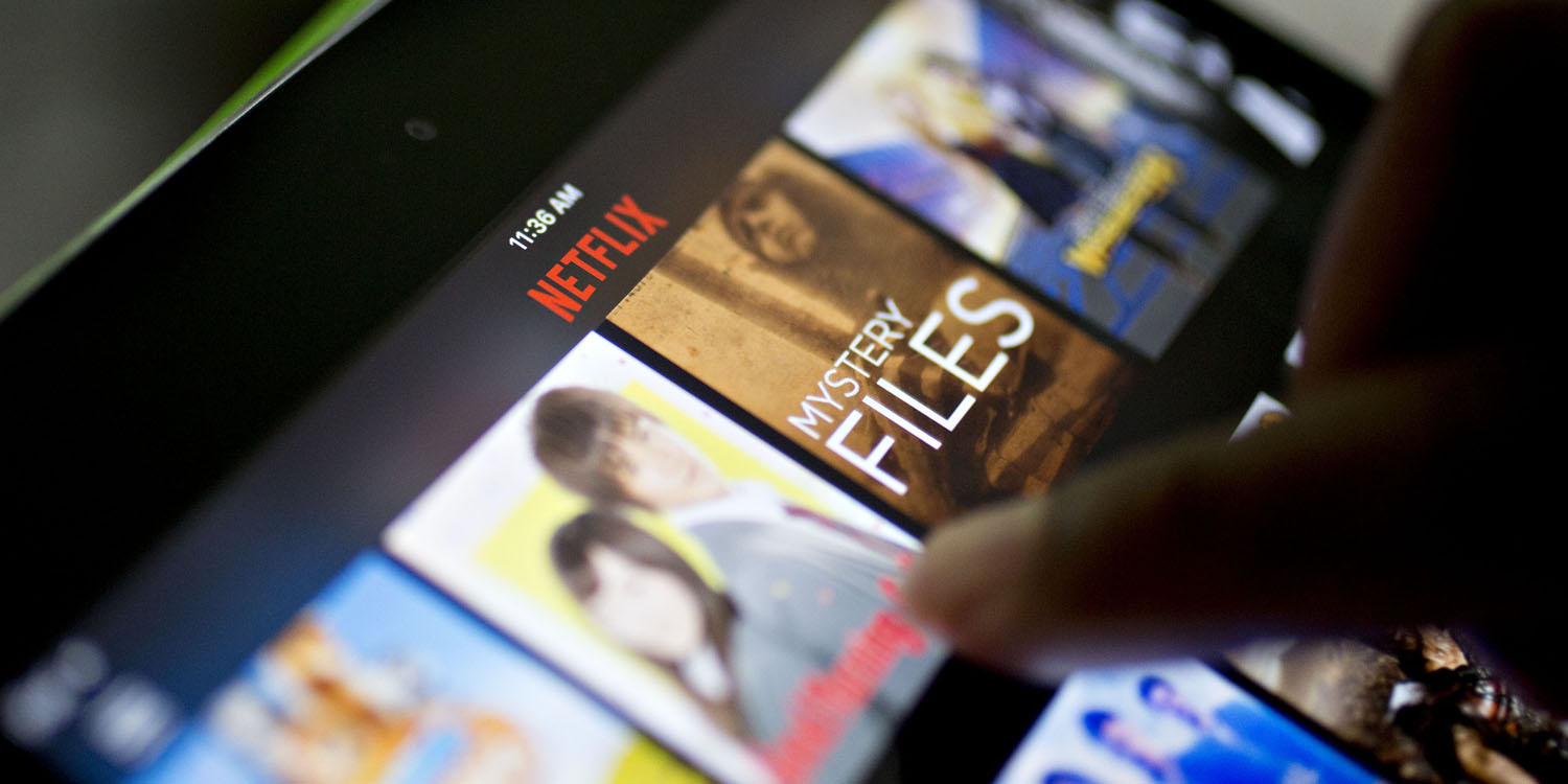 photo image Netflix says its focus is on customer experience, not the threat of Apple's upcoming streaming service