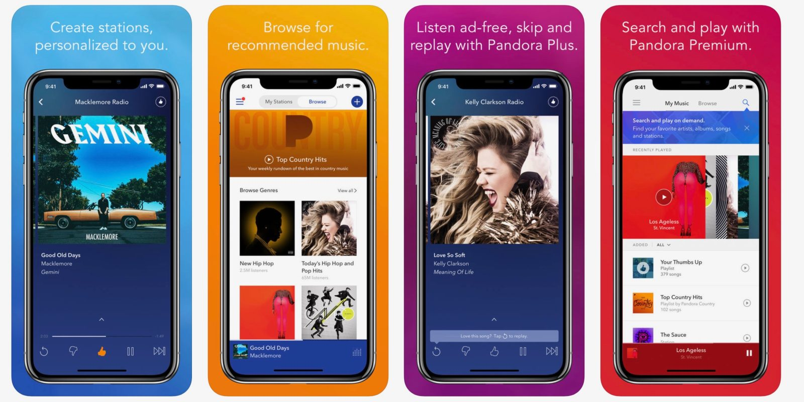 Pandora adds Siri Shortcuts support ahead of iOS 12, teases