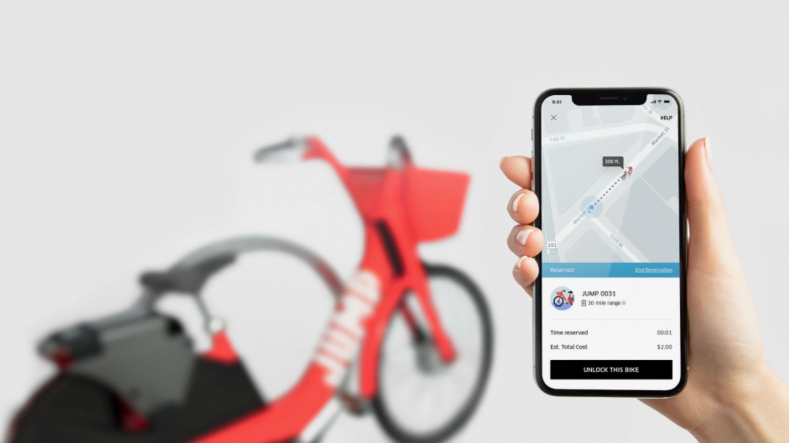 Uber shows off how to switch between ride-share, bikes