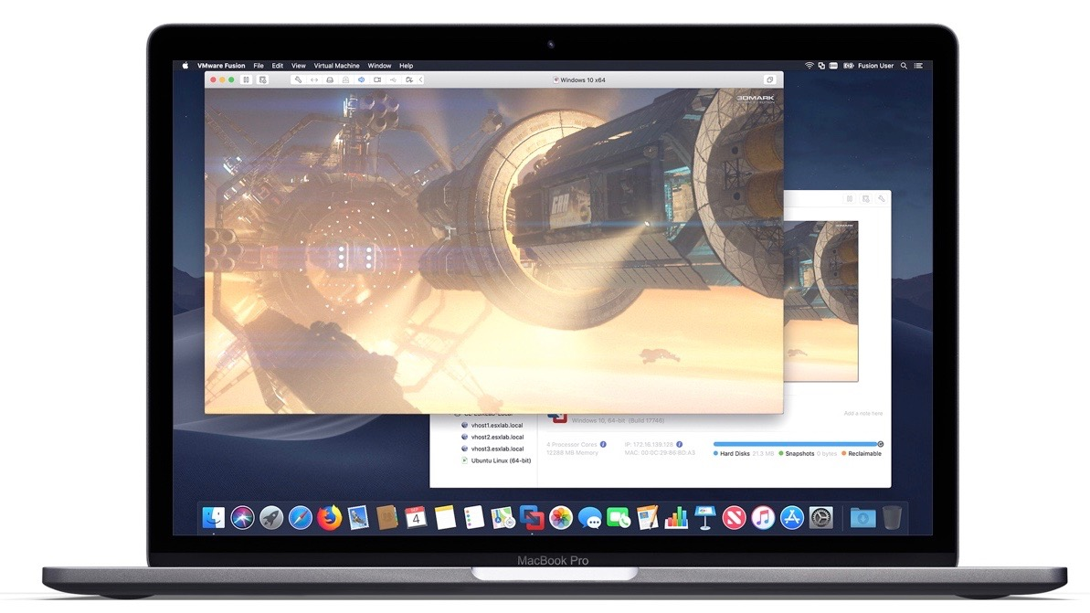 VMWare Fusion 11 brings Mojave updates, additional MacBook Pro
