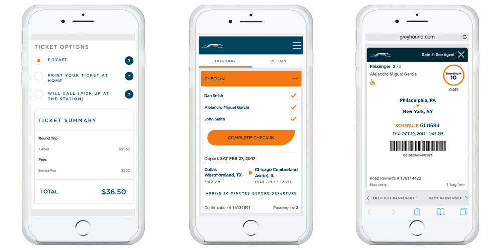 greyhound finally offering mobile tickets in its ios app can convert existing tickets