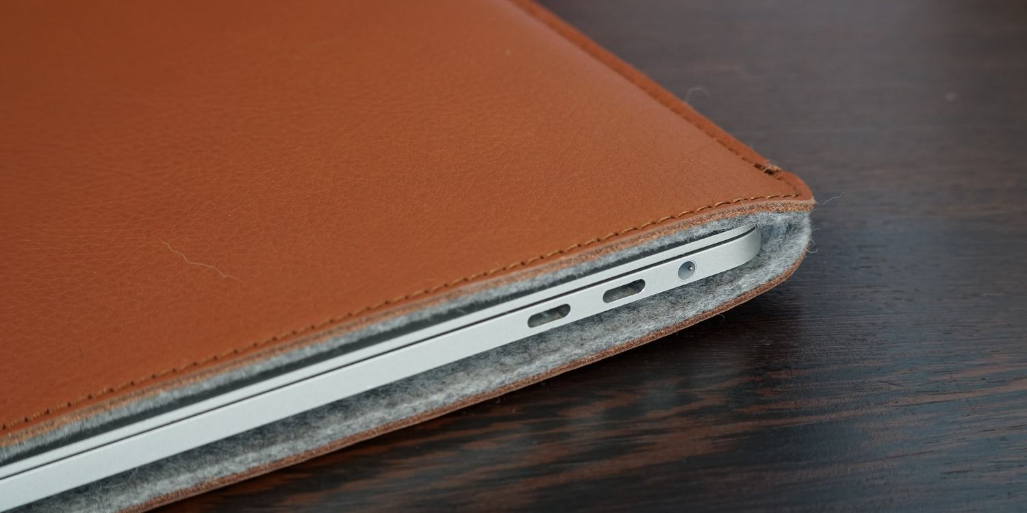 new product 18938 d72b7 Review: Woolnut, a better option than Apple's MacBook Pro leather ...