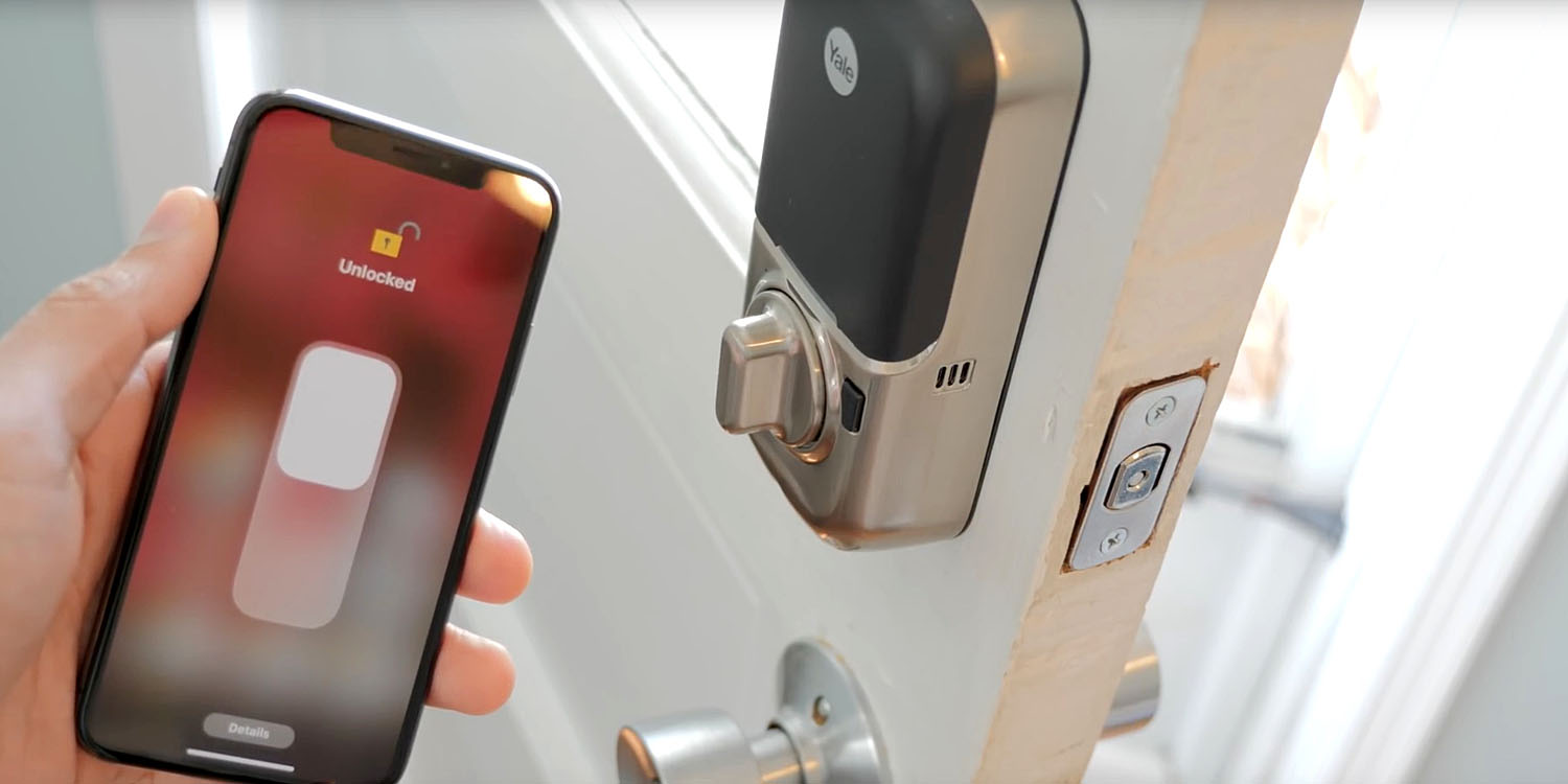 First Yale/August locks available next month, with auto-unlock and Siri control