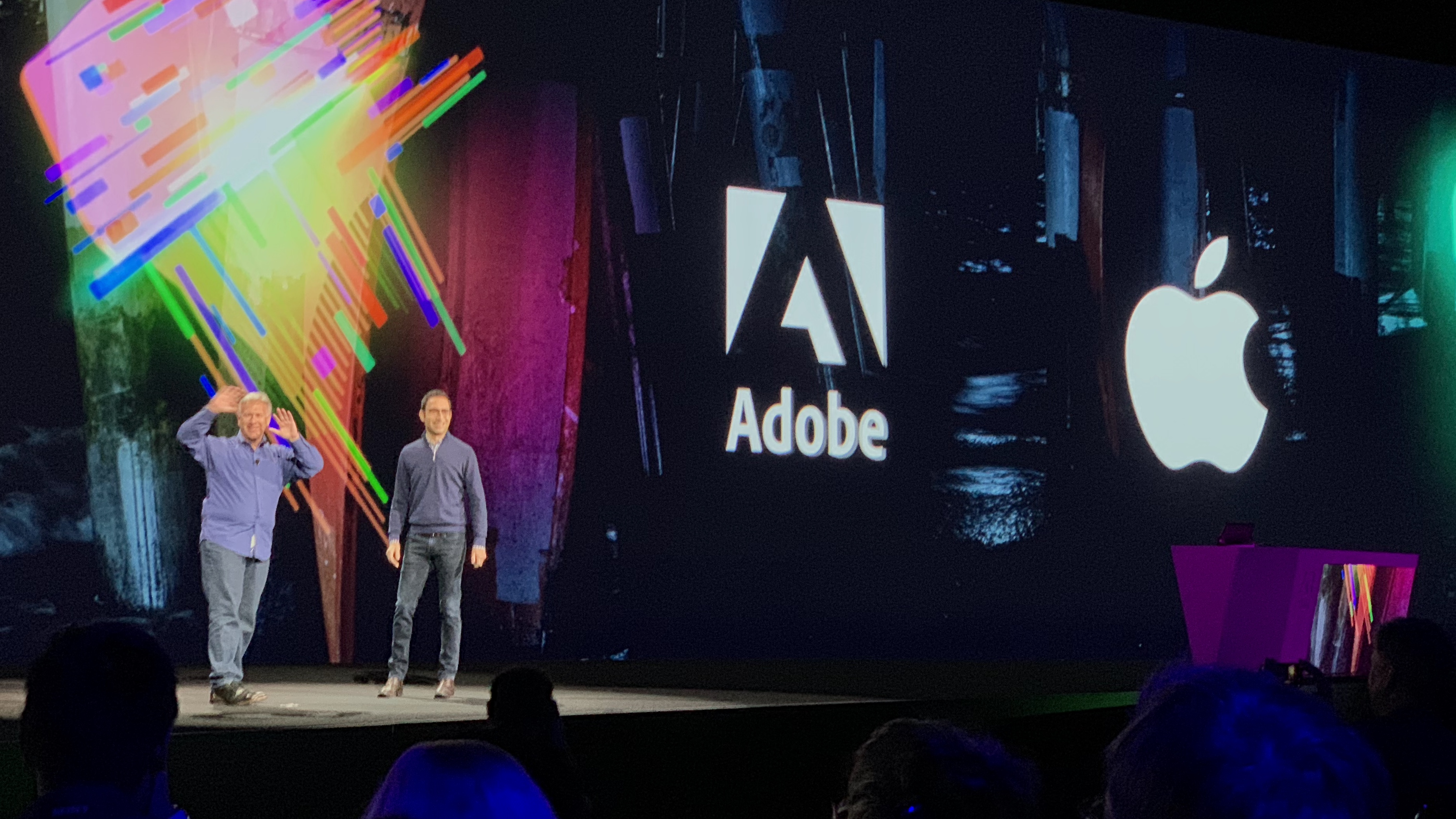 adobe max 2018 phil schiller discusses photoshop for ipad ar collaboration with adobe
