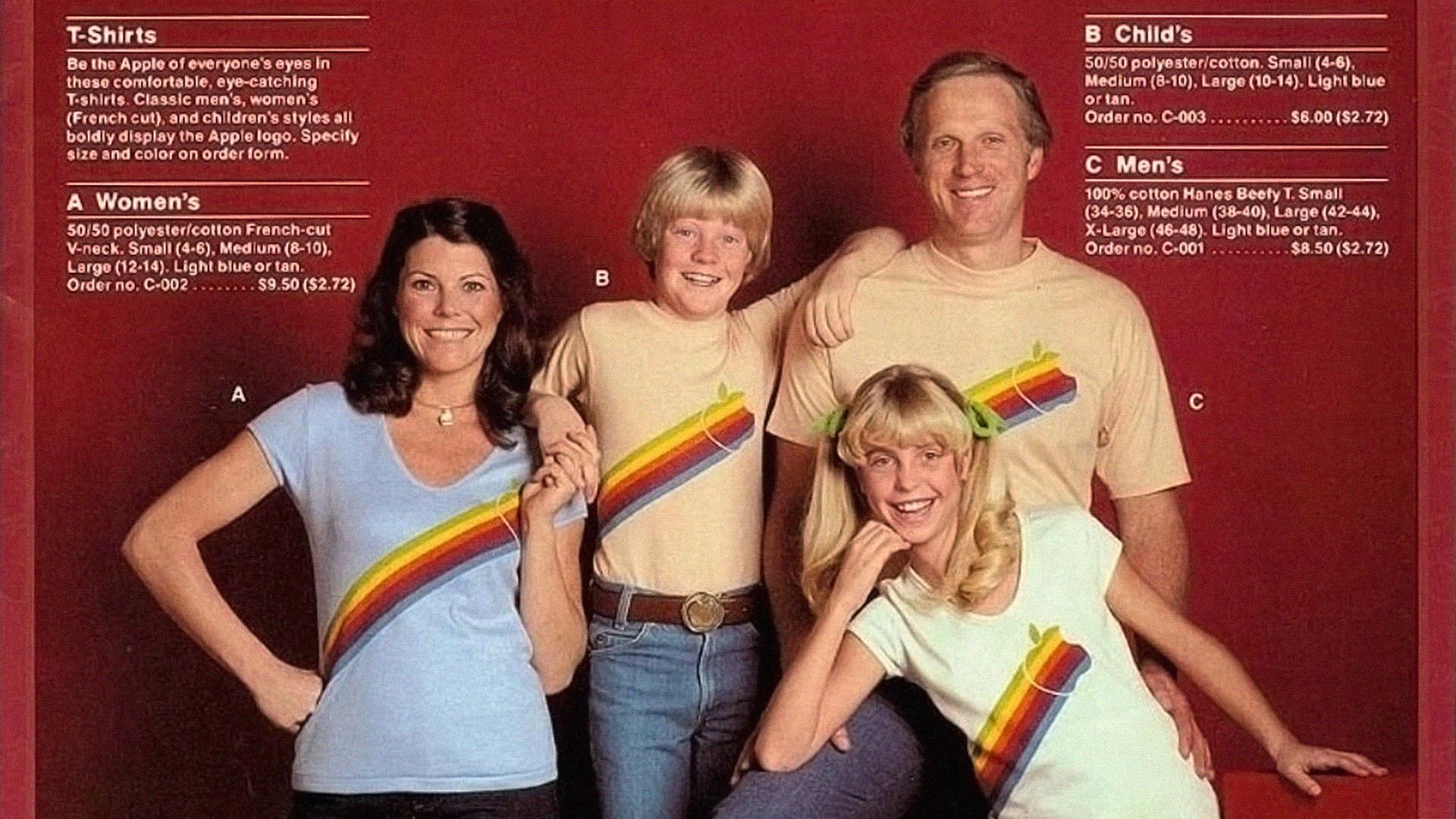 Apple camisetas