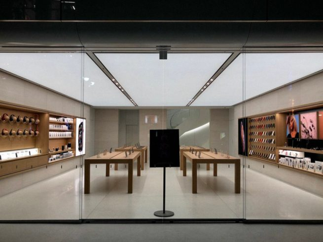 Apple Shibuya's three-story redesign features a stunning new spiral