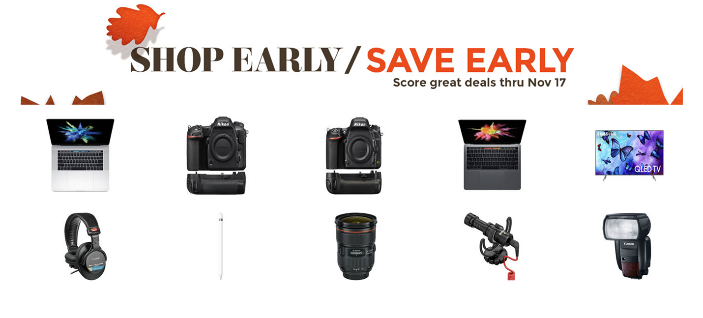 589d59fc517 B H Shop and Save Early event delivers up to  900 off ...