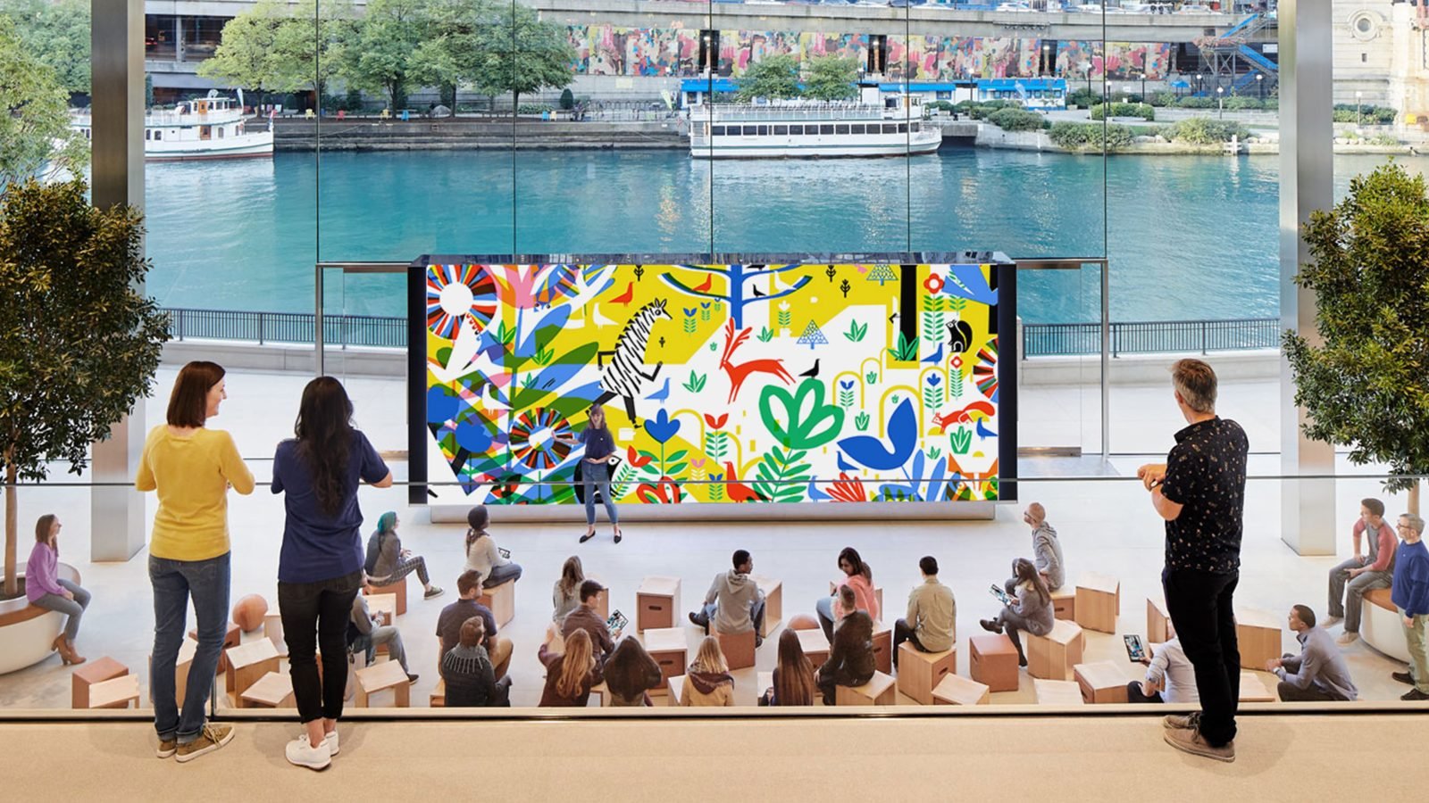Apple and The Big Draw collaborate to bring special art sessions to stores in seven cities across the world