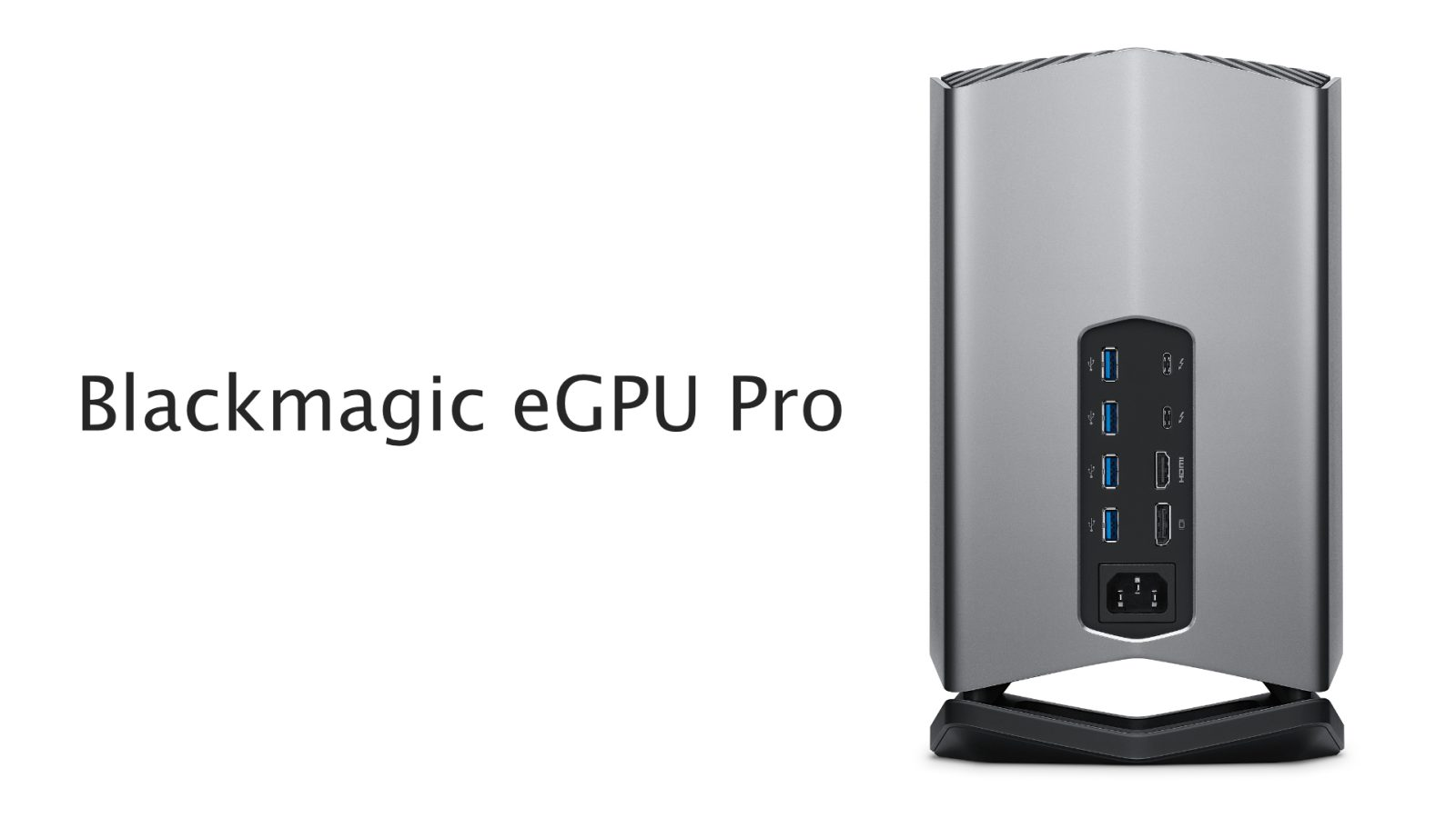 Blackmagic Design launches new eGPU Pro with Radeon RX Vega 56