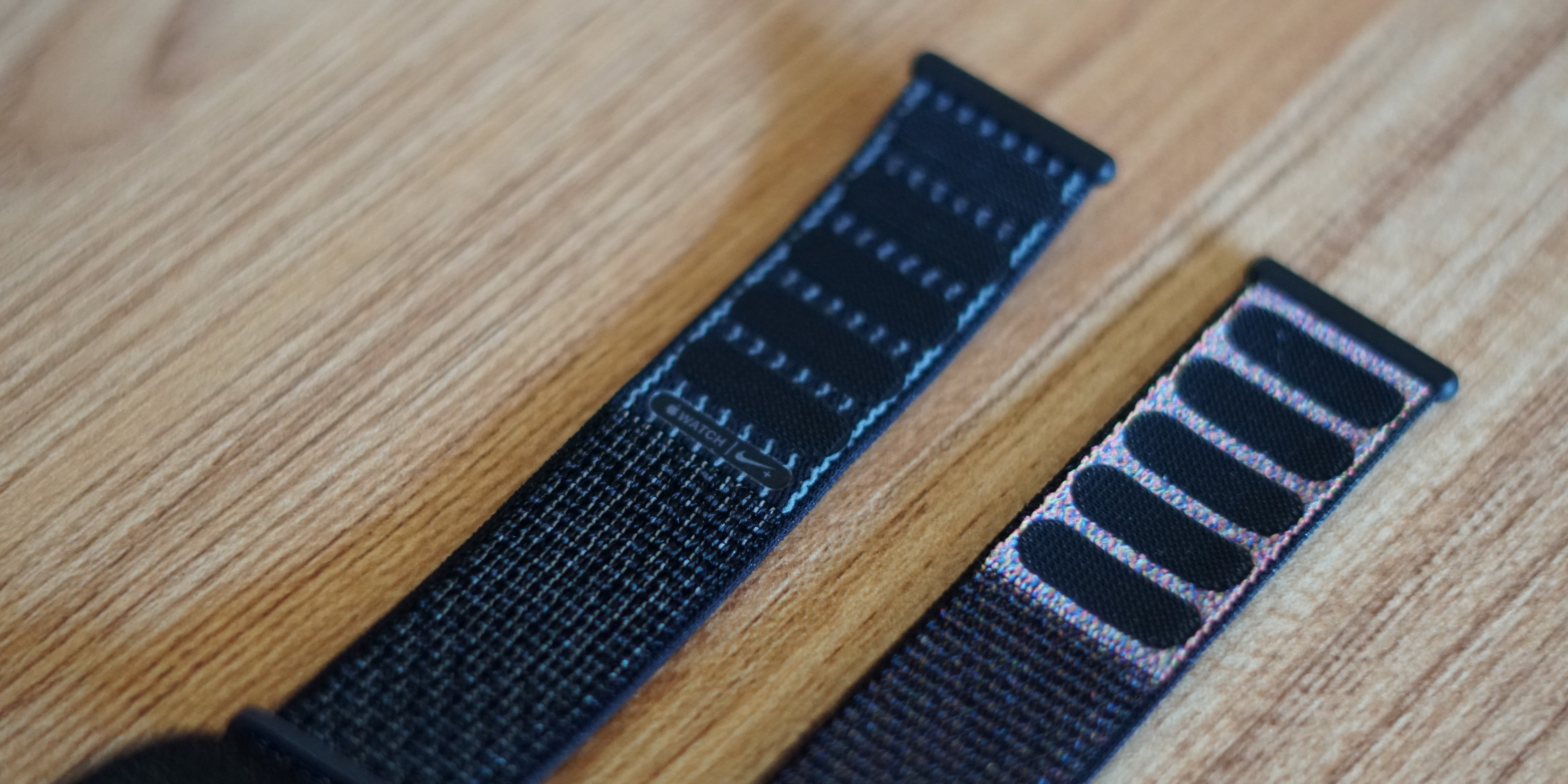 Microprocesador idioma triángulo  Hands-on with the new reflective Sport Loop band for Apple Watch Nike+ -  9to5Mac
