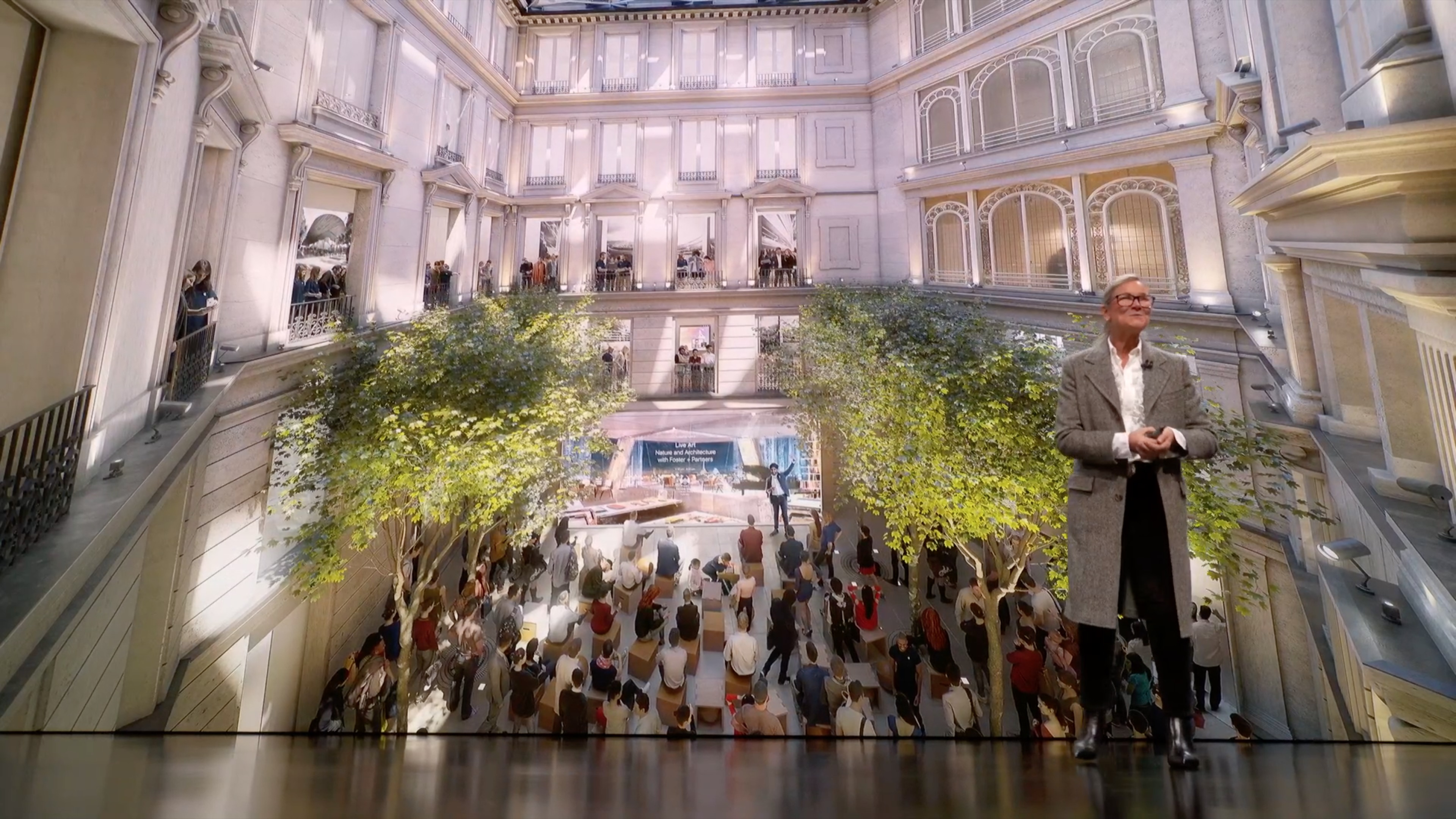 apple promotes creativity at upcoming champs Élysées store open to