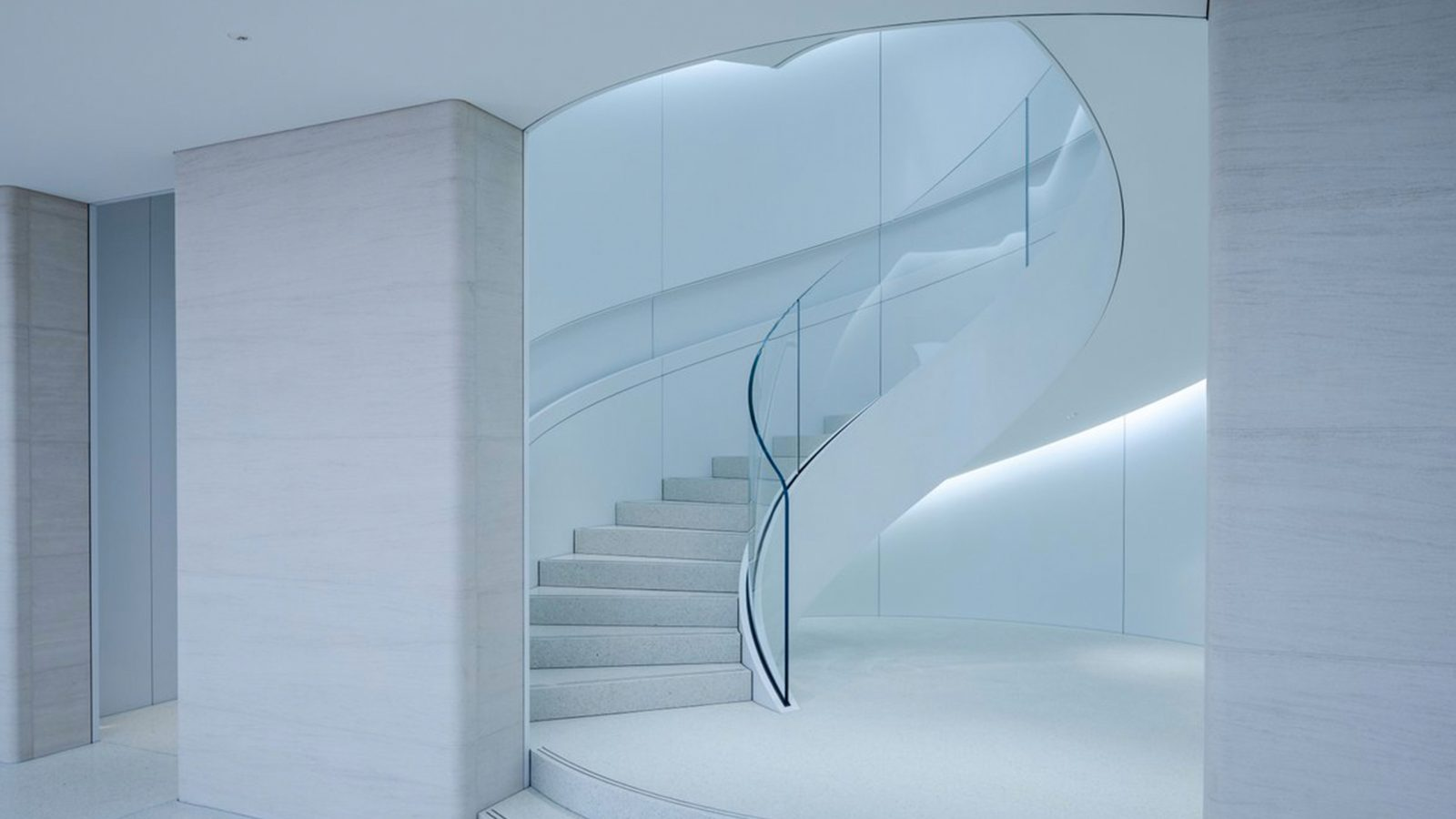 Apple Shibuya's Three-story Redesign Features a Stunning New Spiral Staircase