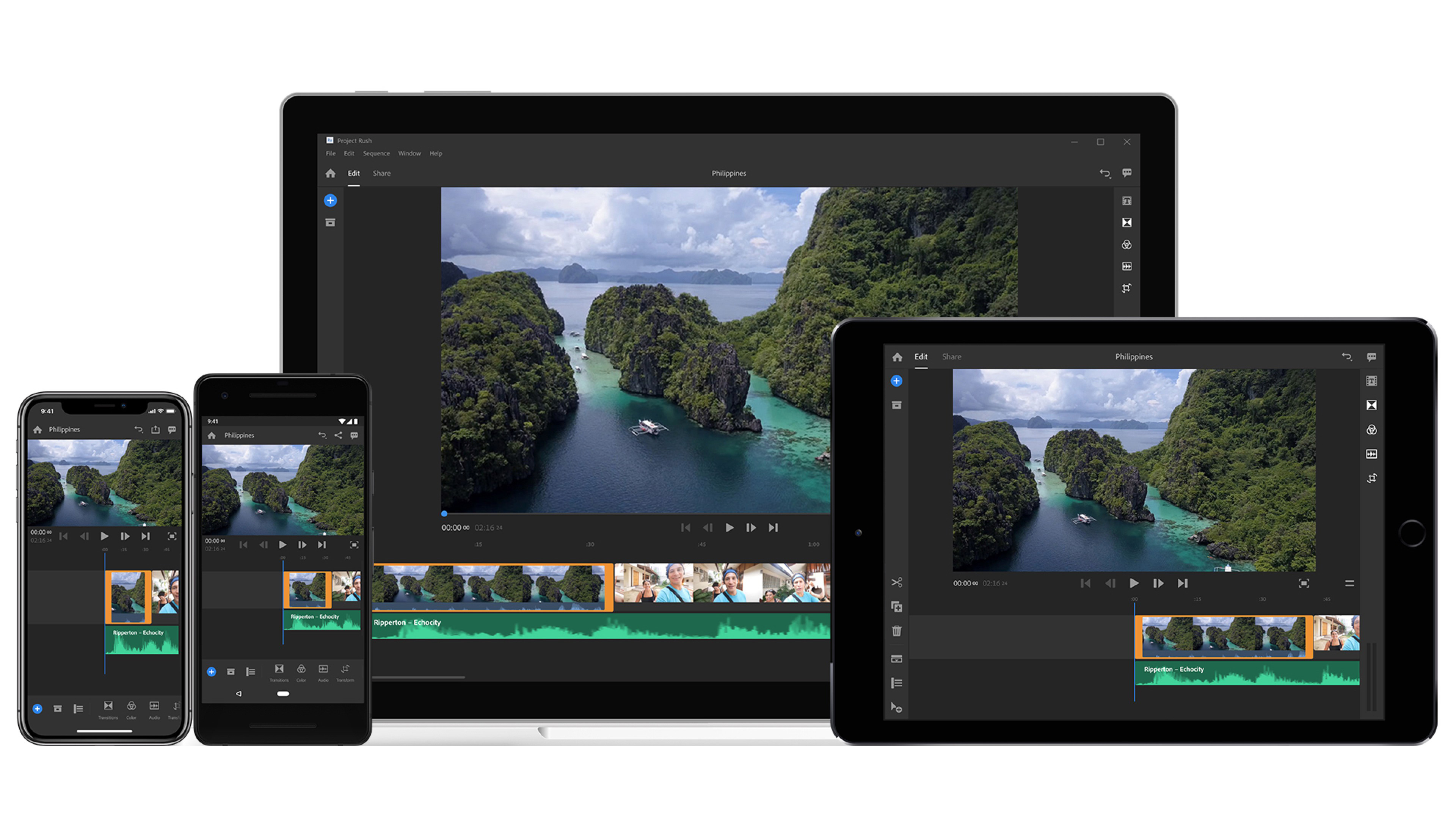adobe max 2018 premiere rush cc released apple photos to lightroom migration xd voice apps more