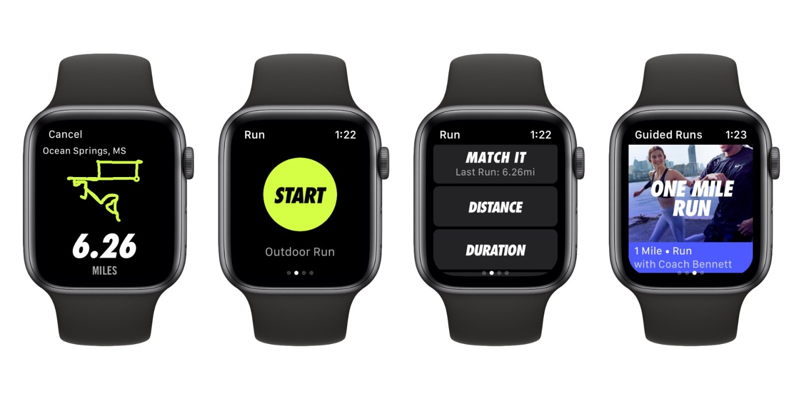 acre autor Mendicidad  Nike+ Run Club now optimized for Apple Watch Series 4 - 9to5Mac