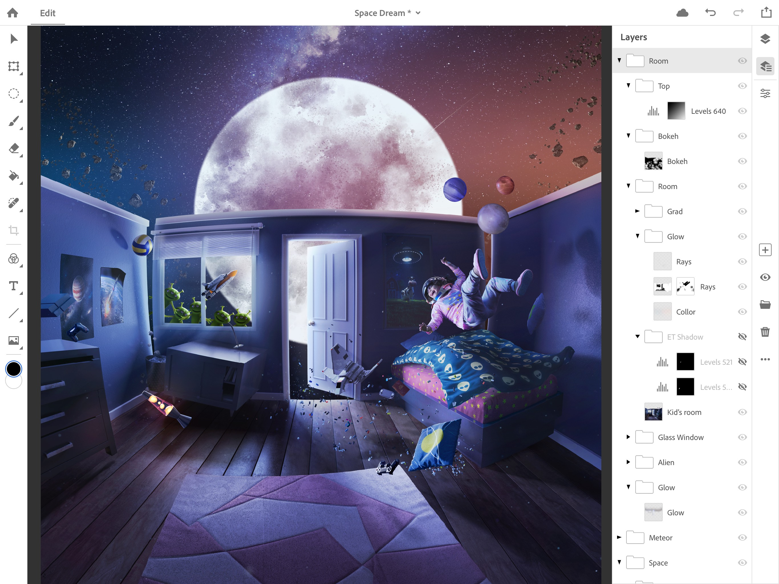 Adobe announces full Photoshop CC for iPad shipping 2019, syncs with